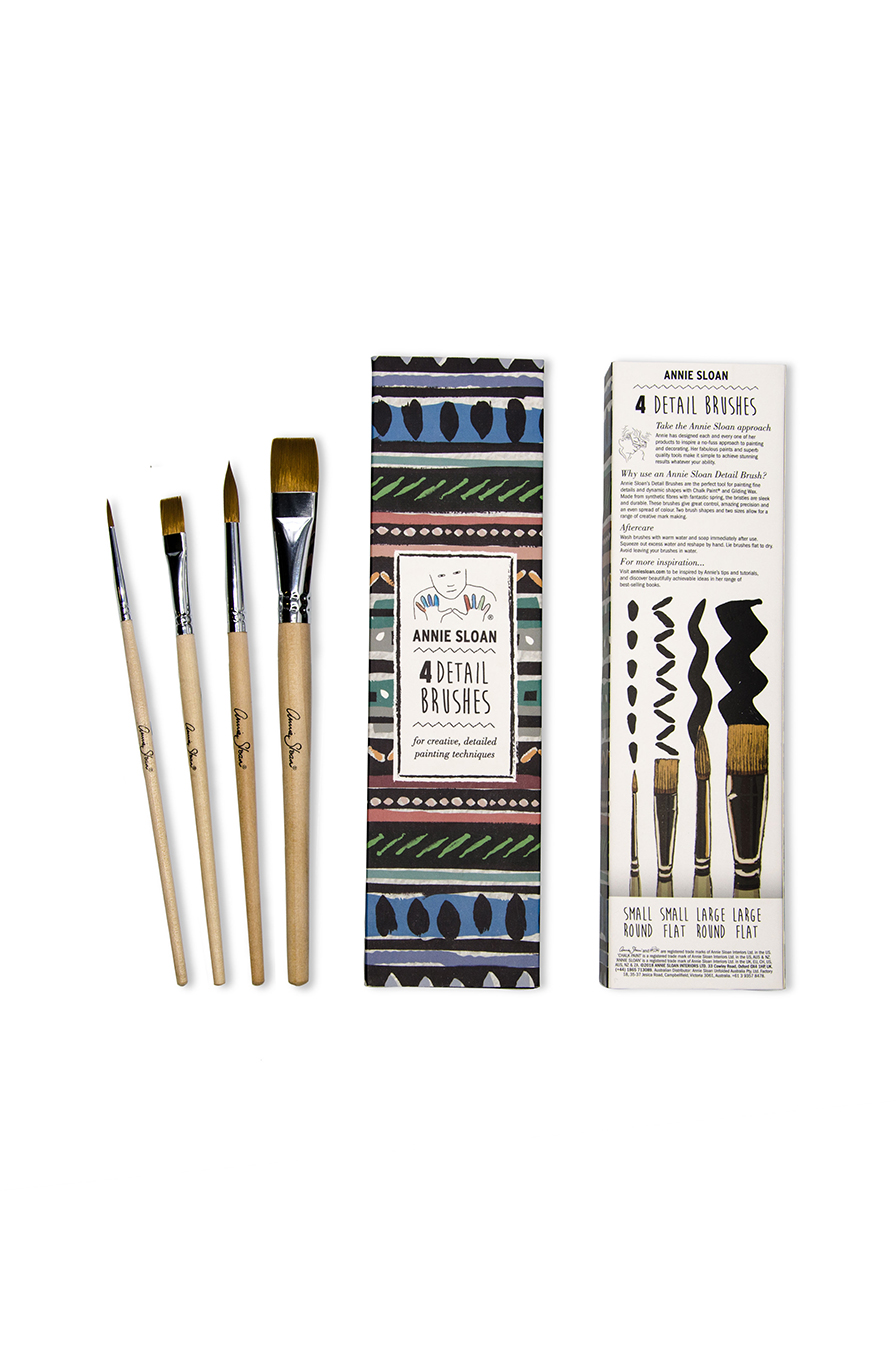 Set of 4 Detail Brushes - by Annie Sloan™