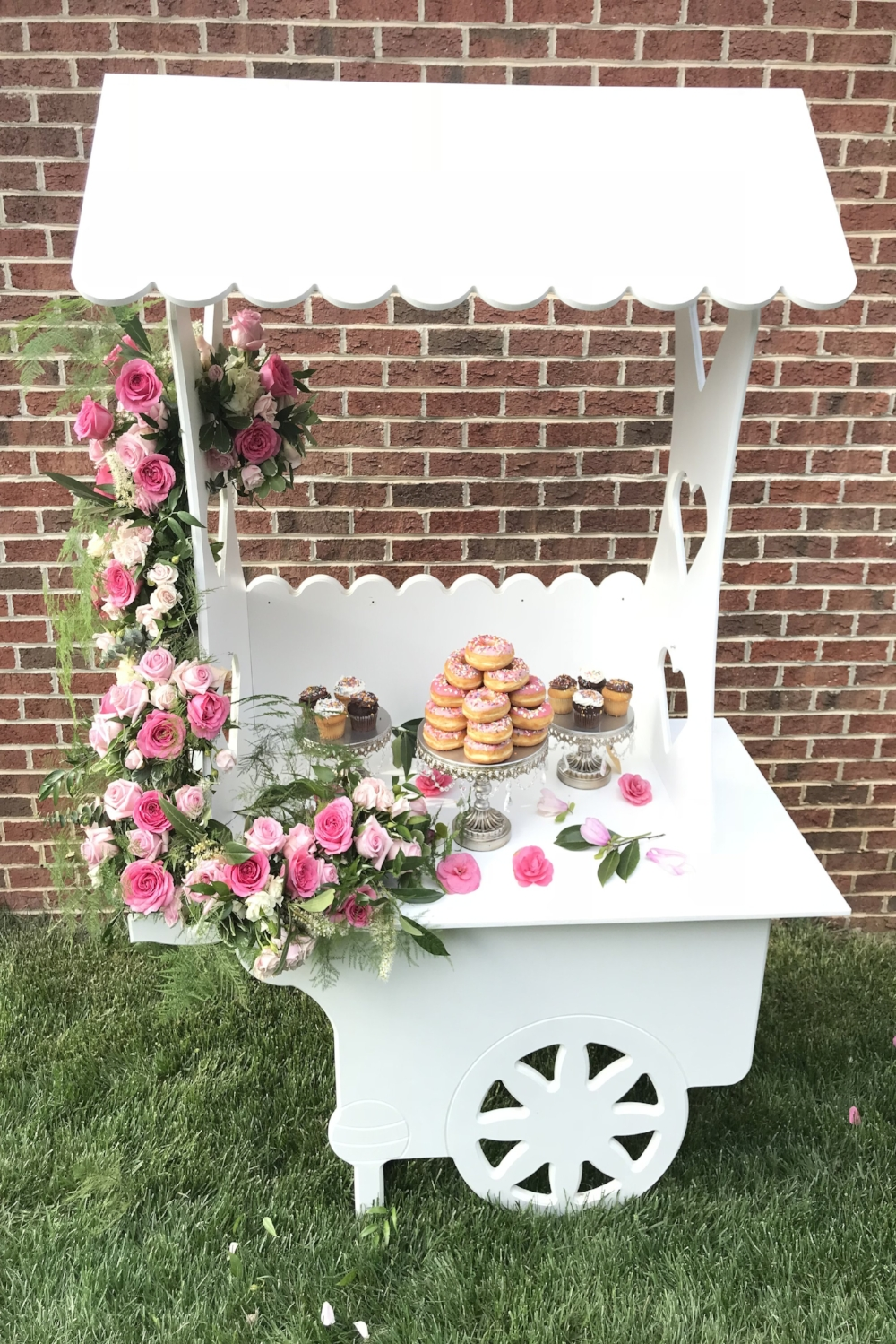 Custom Flower Cart -