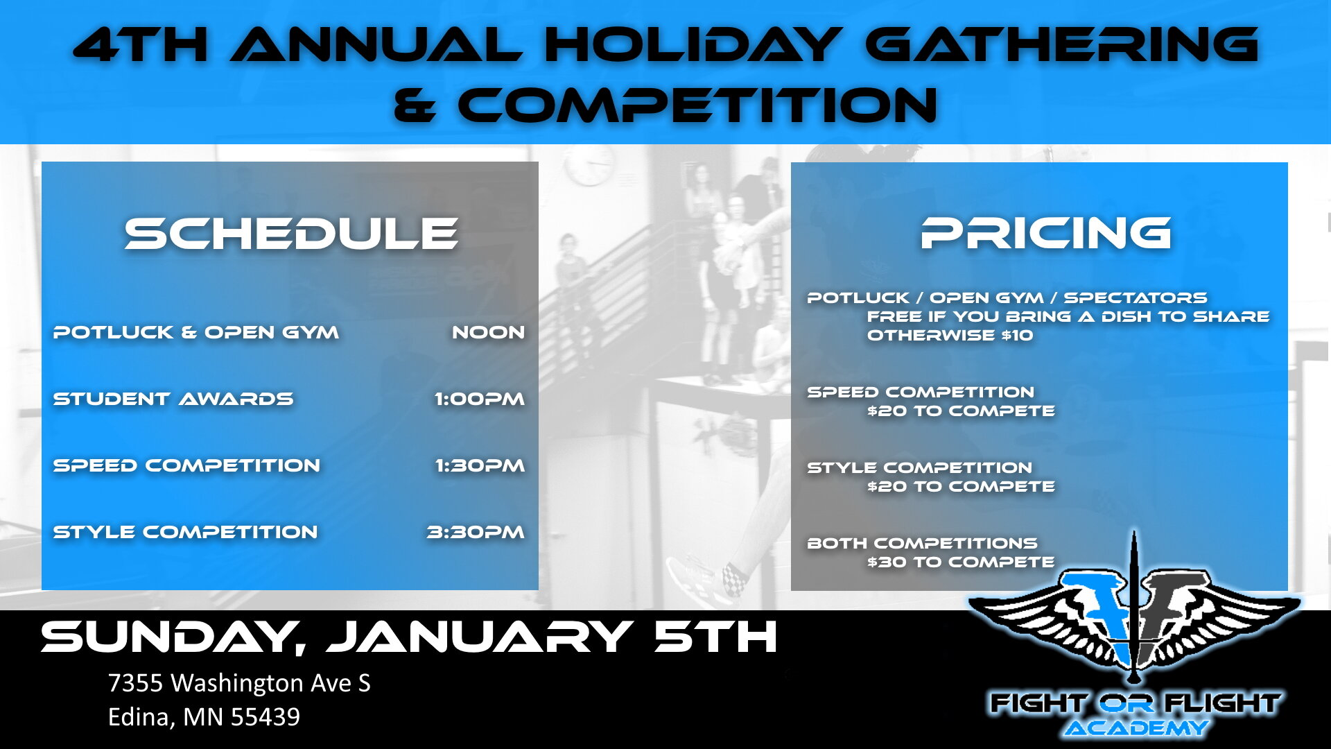 4th annual holiday gathering and competition.jpg