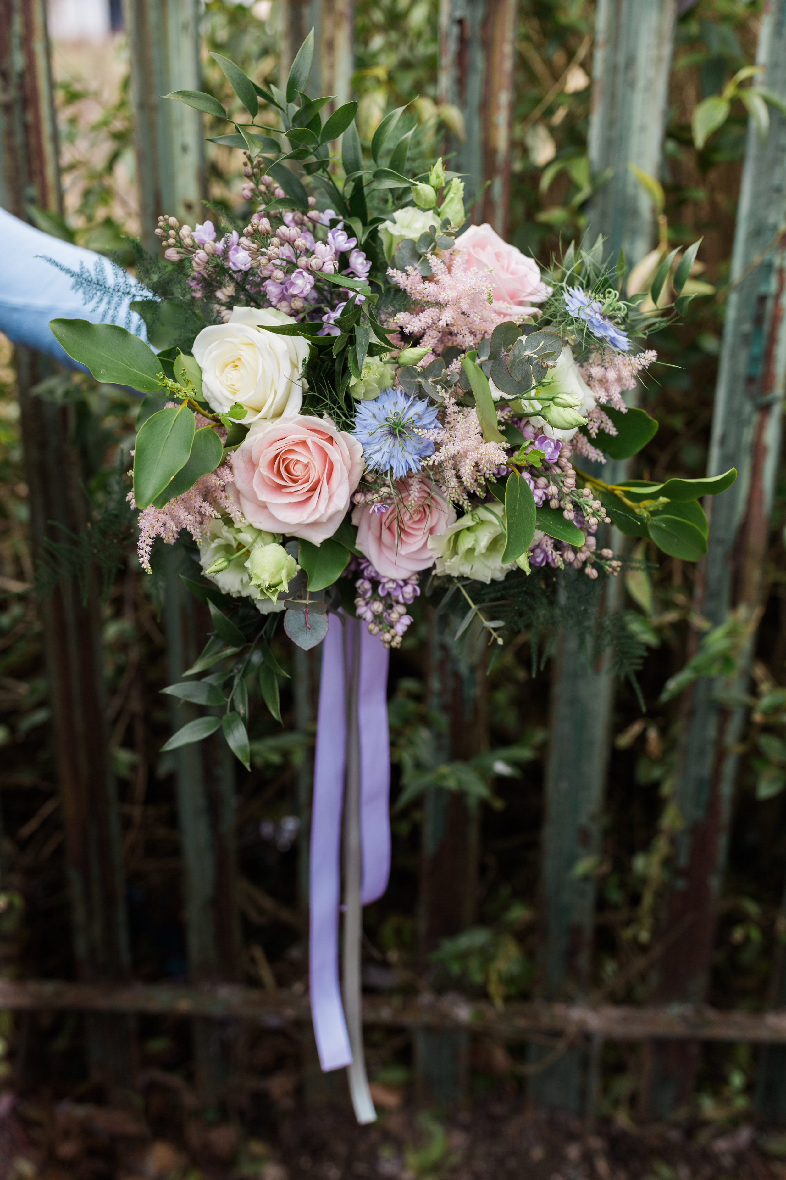 Another shot of Laura's bouquet.