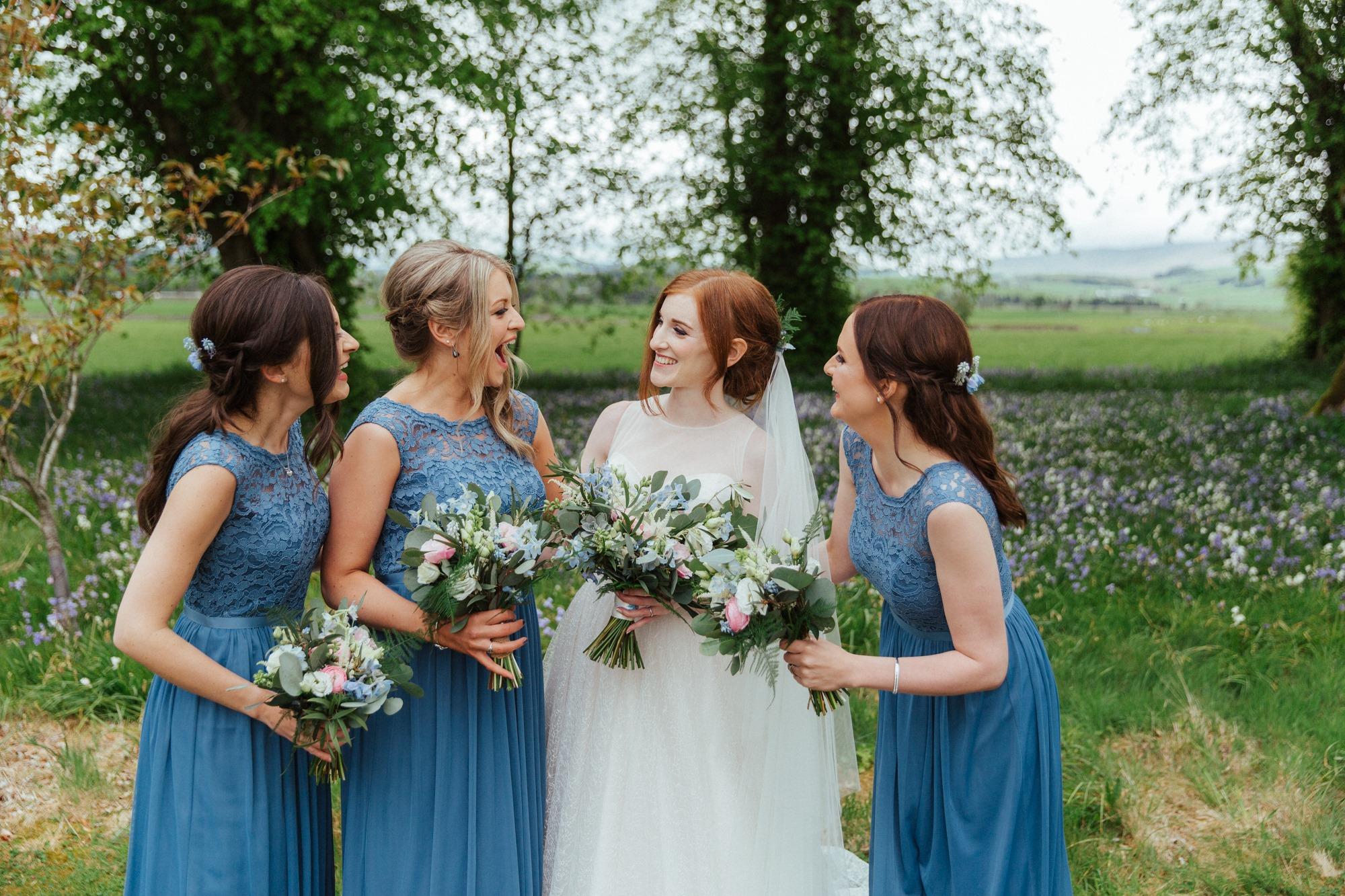 Lisa & her girls at Hartree Estate, Biggar | Tandem Photography