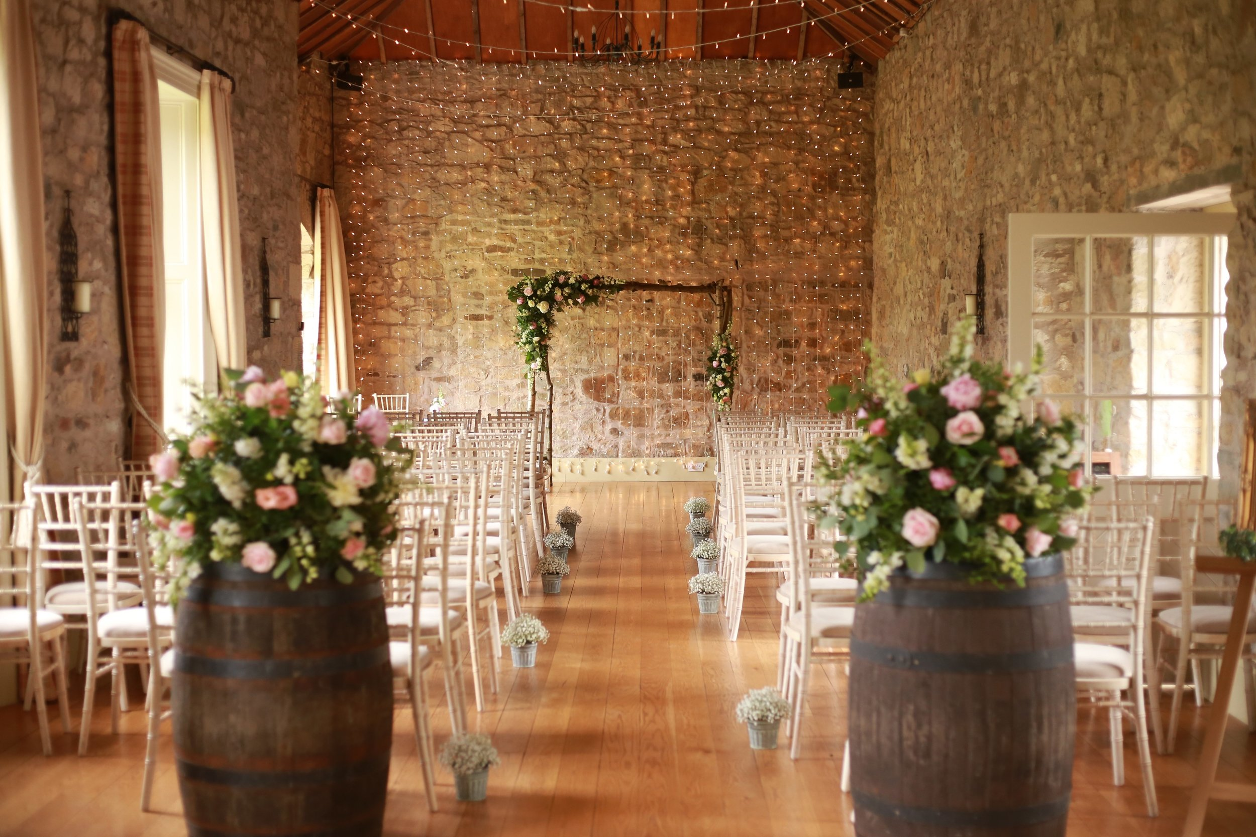 Kirknewton House Stables styling | Photographed by Stems