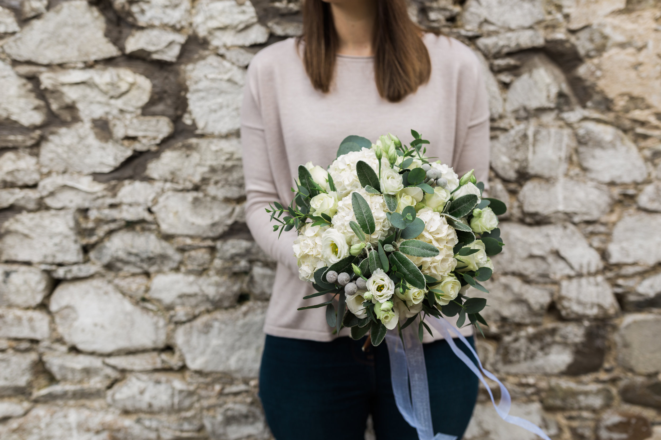 Bridal bouquet by Stems | EnaMay Photography