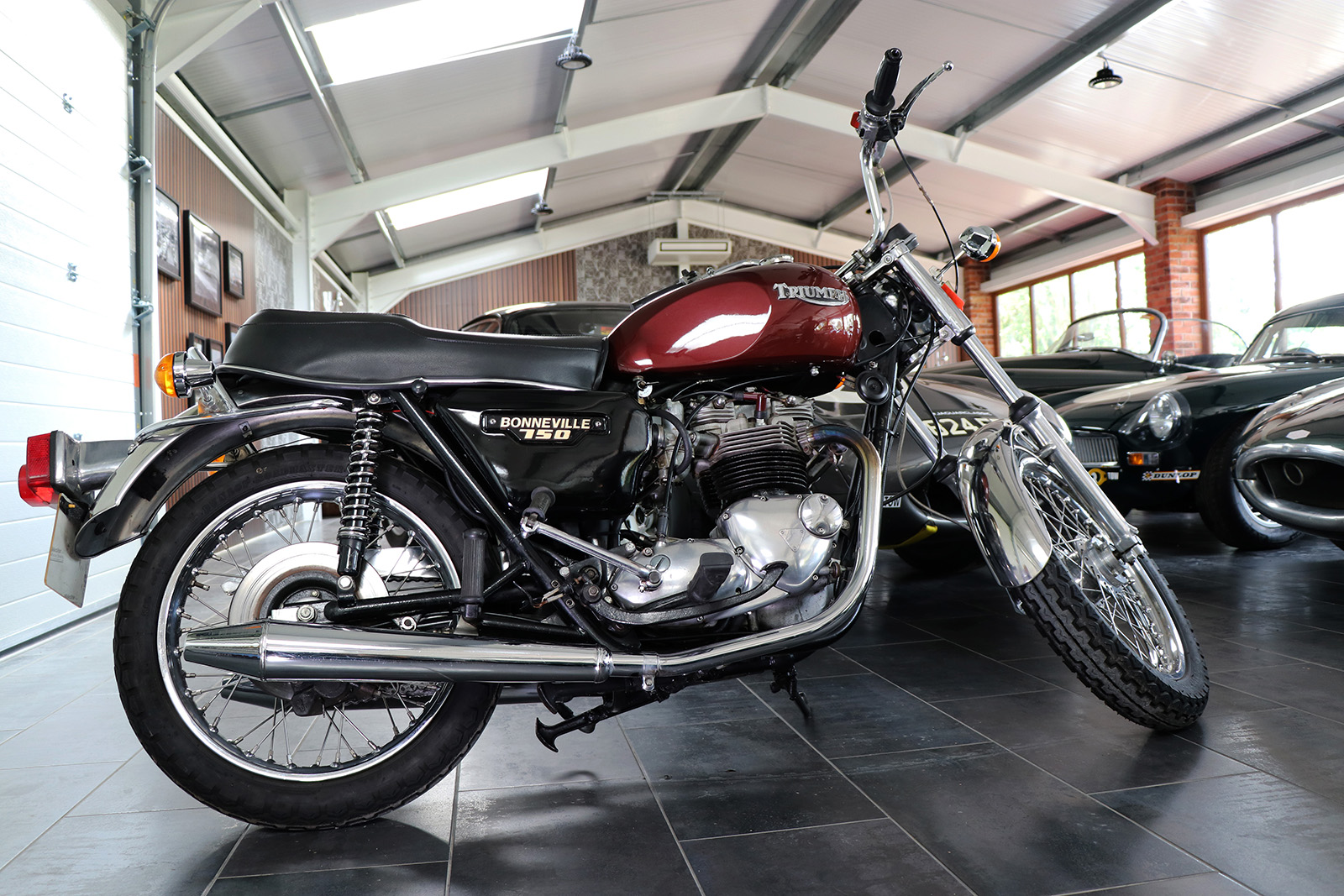 1978 Triumph Bonneville T140V For Sale at Sayer Selection Ltd. UK