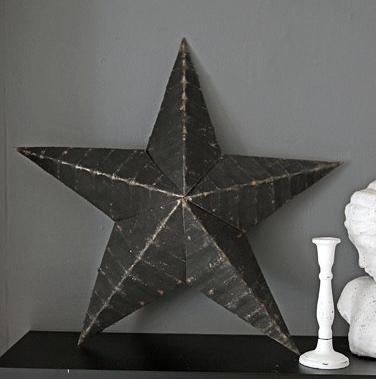 "22"" Diameter Metal Star £39.00  www.rockettstgeorge.co.uk"