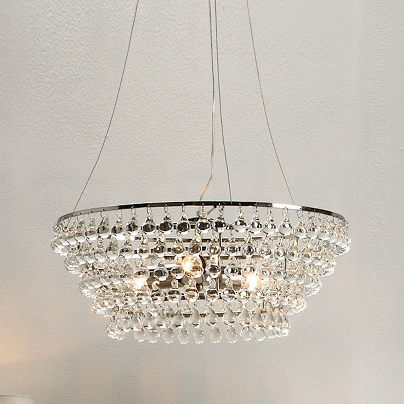 Dee would ask Santa for this beautiful ceiling light - she has specified it for clients in the past, but has also always wanted it for her own front room too!