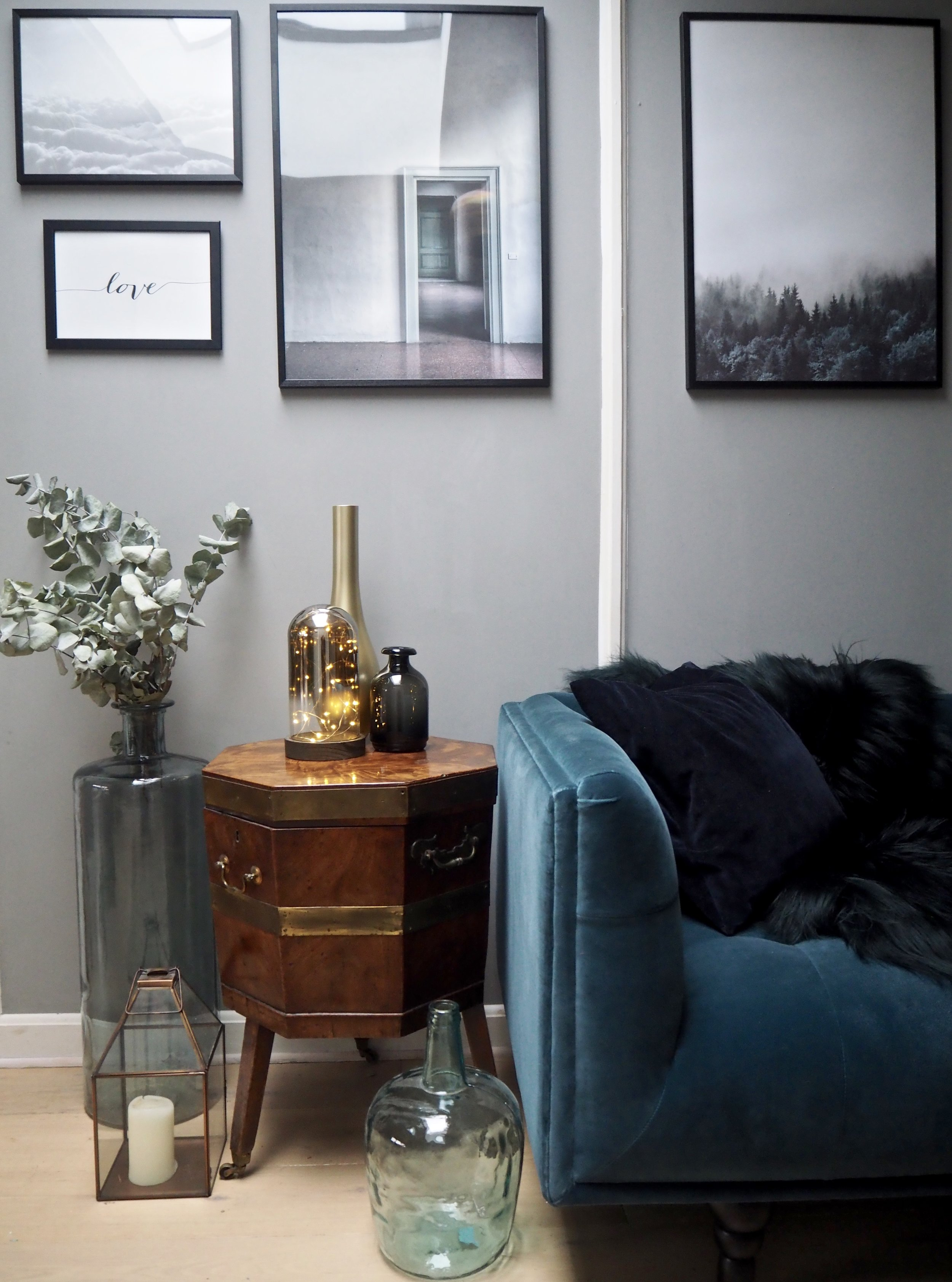 Velvet Sofa - Nordic decor