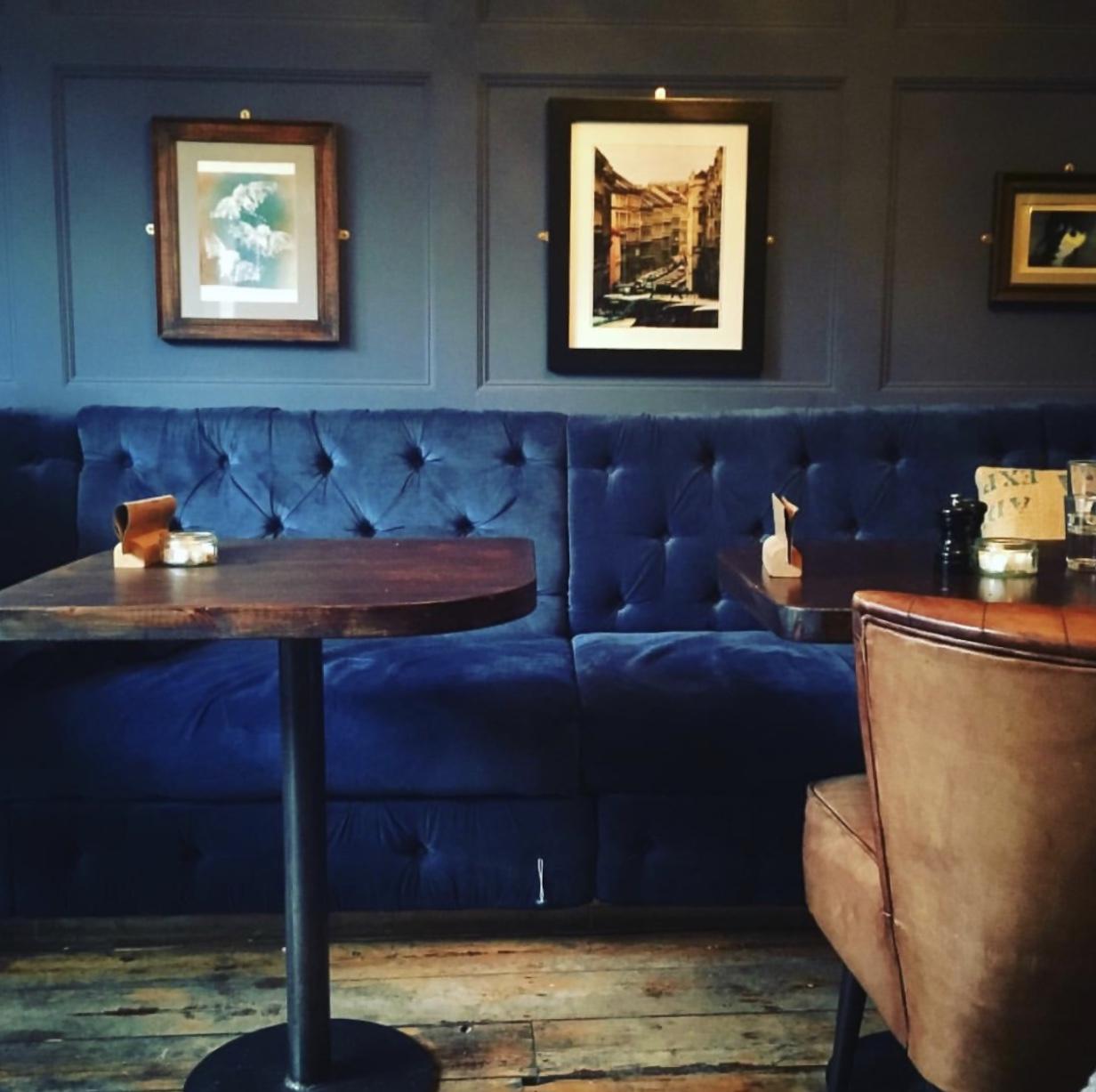 Cocktail bar area at   @Fossgatesocial
