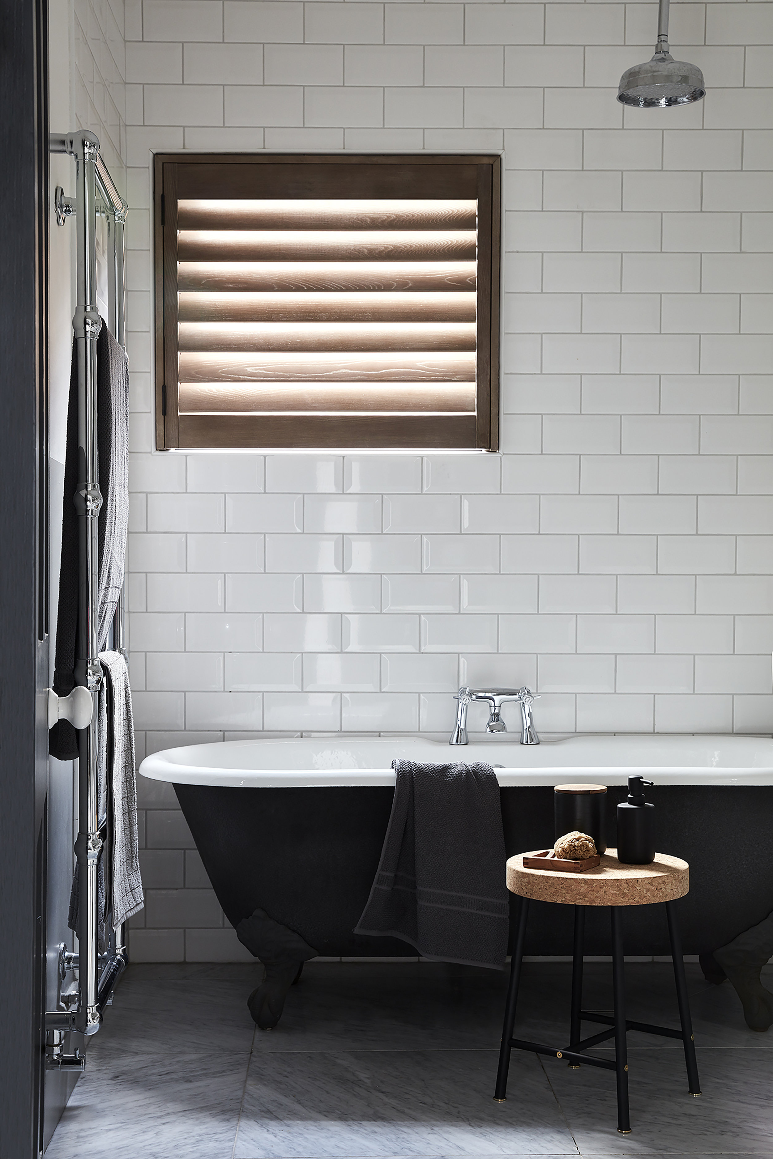 Special Shape Shutters-   Window arches, hexagons, circles, triangles – they can all have shutters made for them where blinds or curtains just wouldn't work.