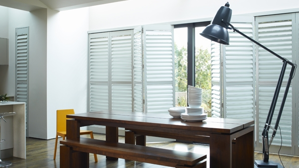 Wooden Shutters for Doors-   Shutters are not just for windows, they look great and are ideal for interior doors. There is the option of full-height shutters or alternatively a solid bottom half and louvered top half to control the daytime light.