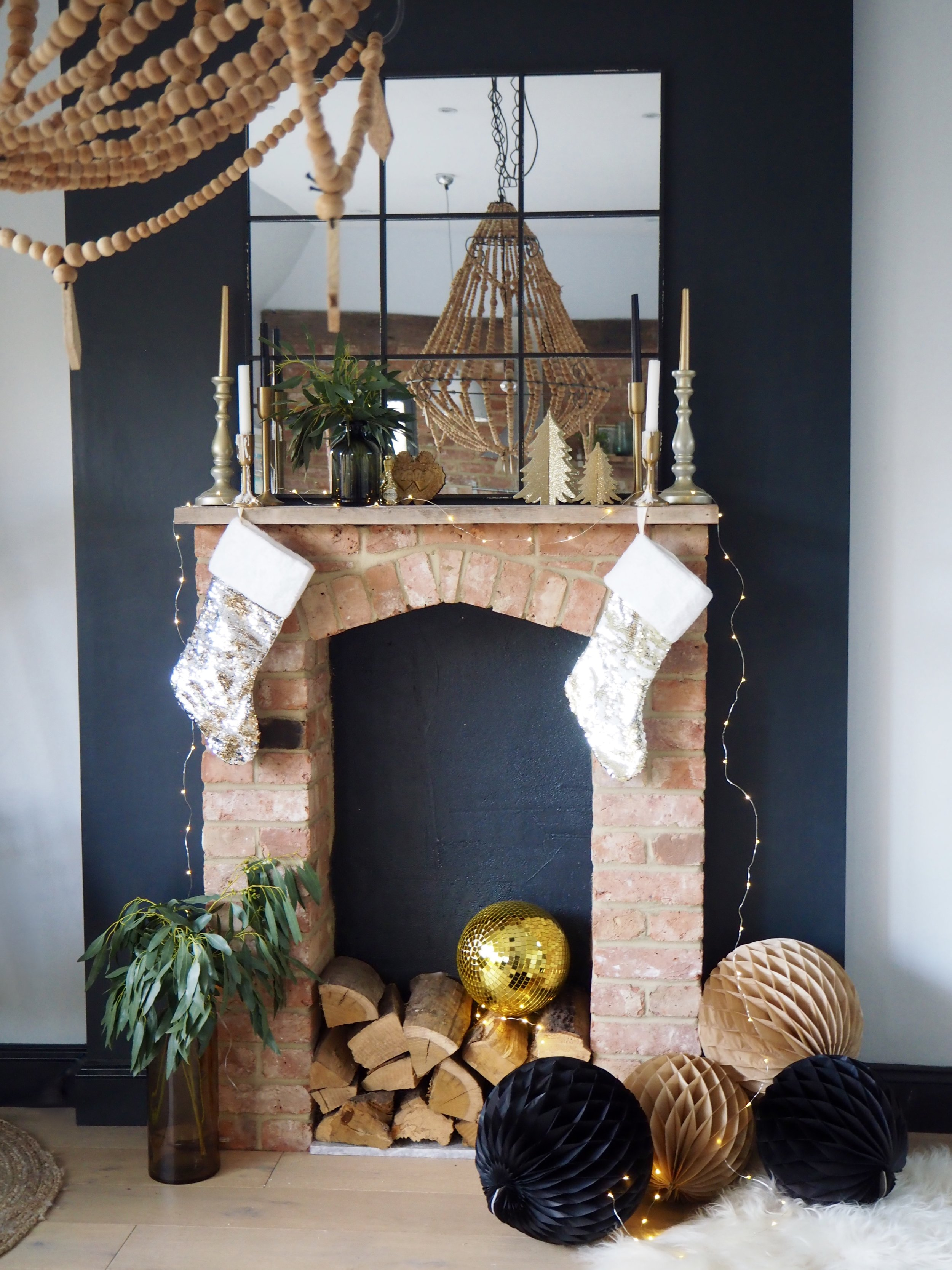 Gold glitter balls? yes please!    Golden Disco Ball Decoration Large