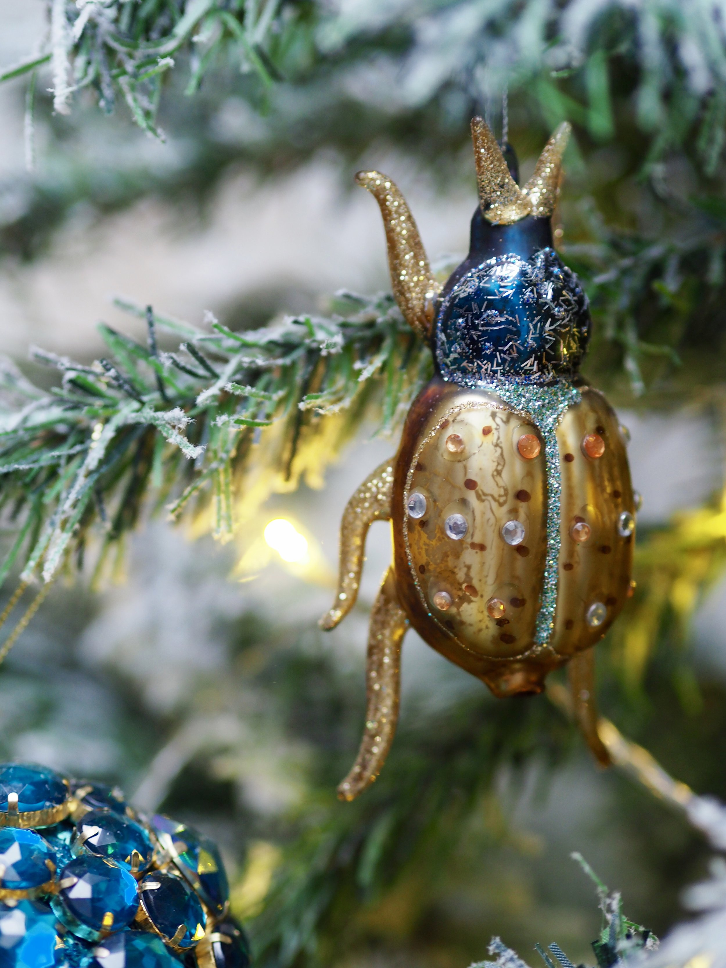 How lovely are these colourful beetle decorations…. there are 3 to choose from…   Bejazzled Stag Beetle Hanging Decoration