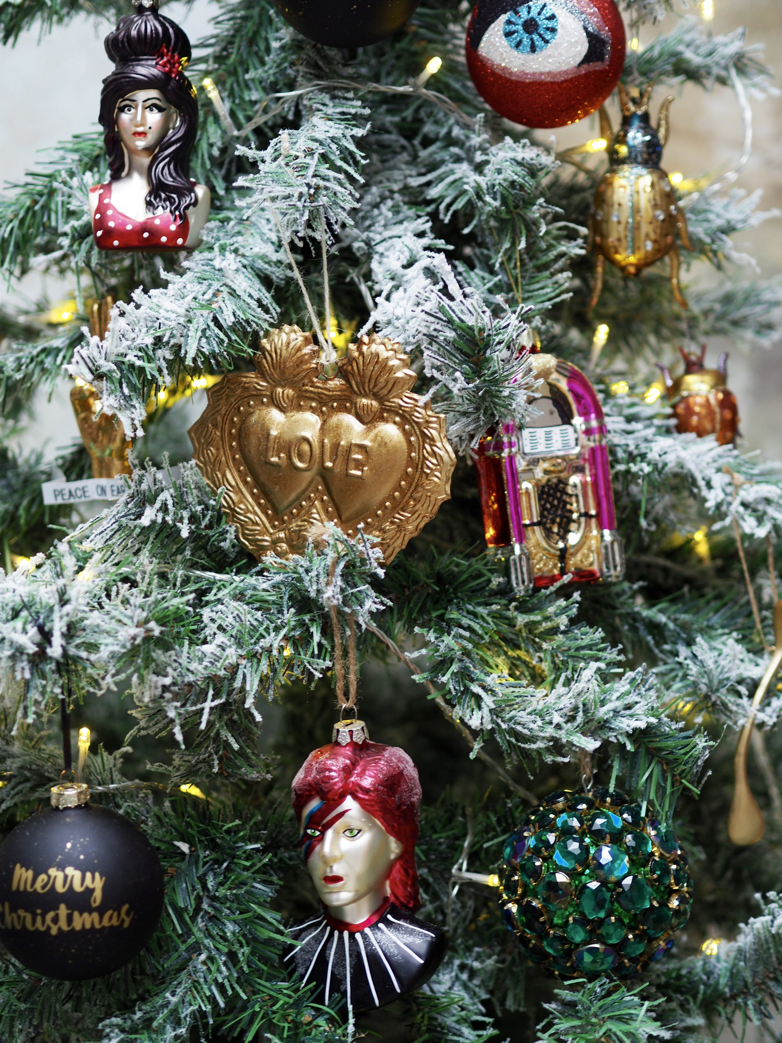 Such a fabulous collection of Rockett St George decorations for the tree this year!