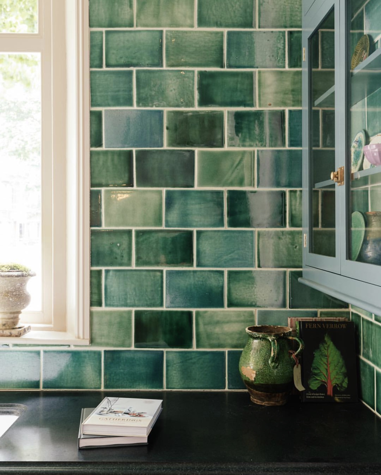 deVOL Emerald Green London Tiles    - Devol Kitchens £25 per tile