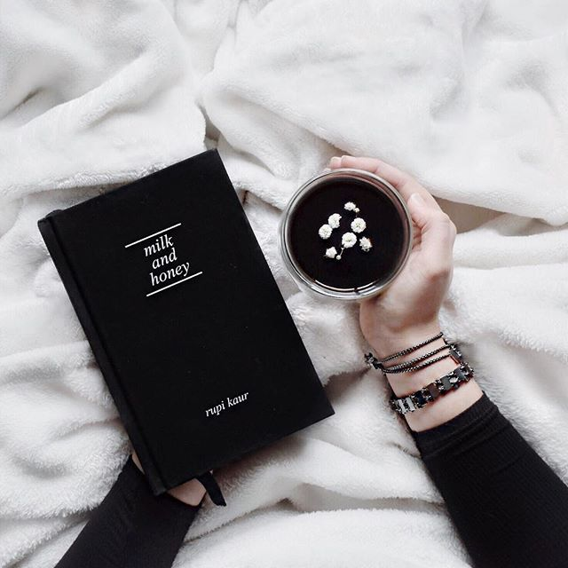 Lazy Sunday afternoons consist of some milk, honey, and a little #coffee too.