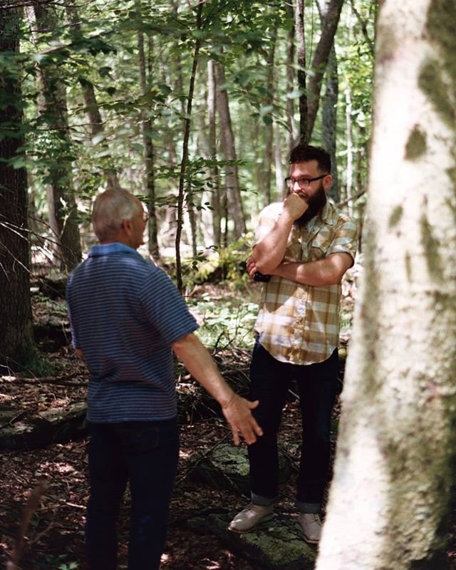During a recent visit to a site within the watershed now owned by Providence Water filmmaker @evanvillari interviewed author Ray Wolf.  He stands on the foundation of the home Mr. Wolf's mother grew up in, before her family was forcibly evicted by the Providence Water Supply Board.