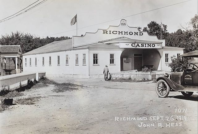 The Richmond Casino opened its doors four years after the Providence Water Supply Board could legally exercise condemnation of personal property, by eminent domain, in Scituate.  Nearby the Casino's grounds, houses, stores and churches were actively being razed while burial plots were exhumed and headstones relocated.  This recreational building became a frequent stop for members of the PWSB, while they were doing their good work for the people, out in the country.