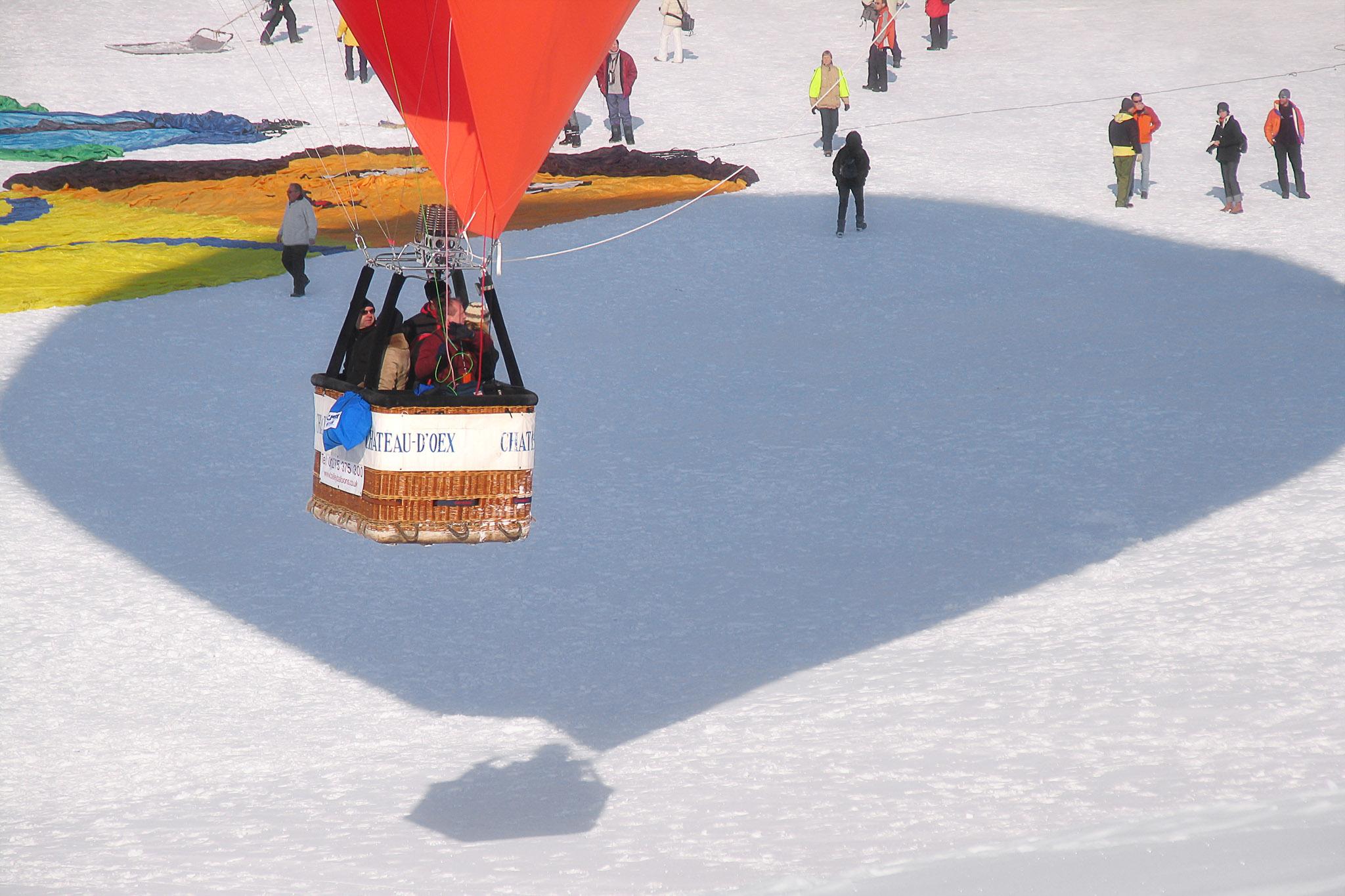 Hot Air Balloon Festival - Château-d'Oex, Switzerland