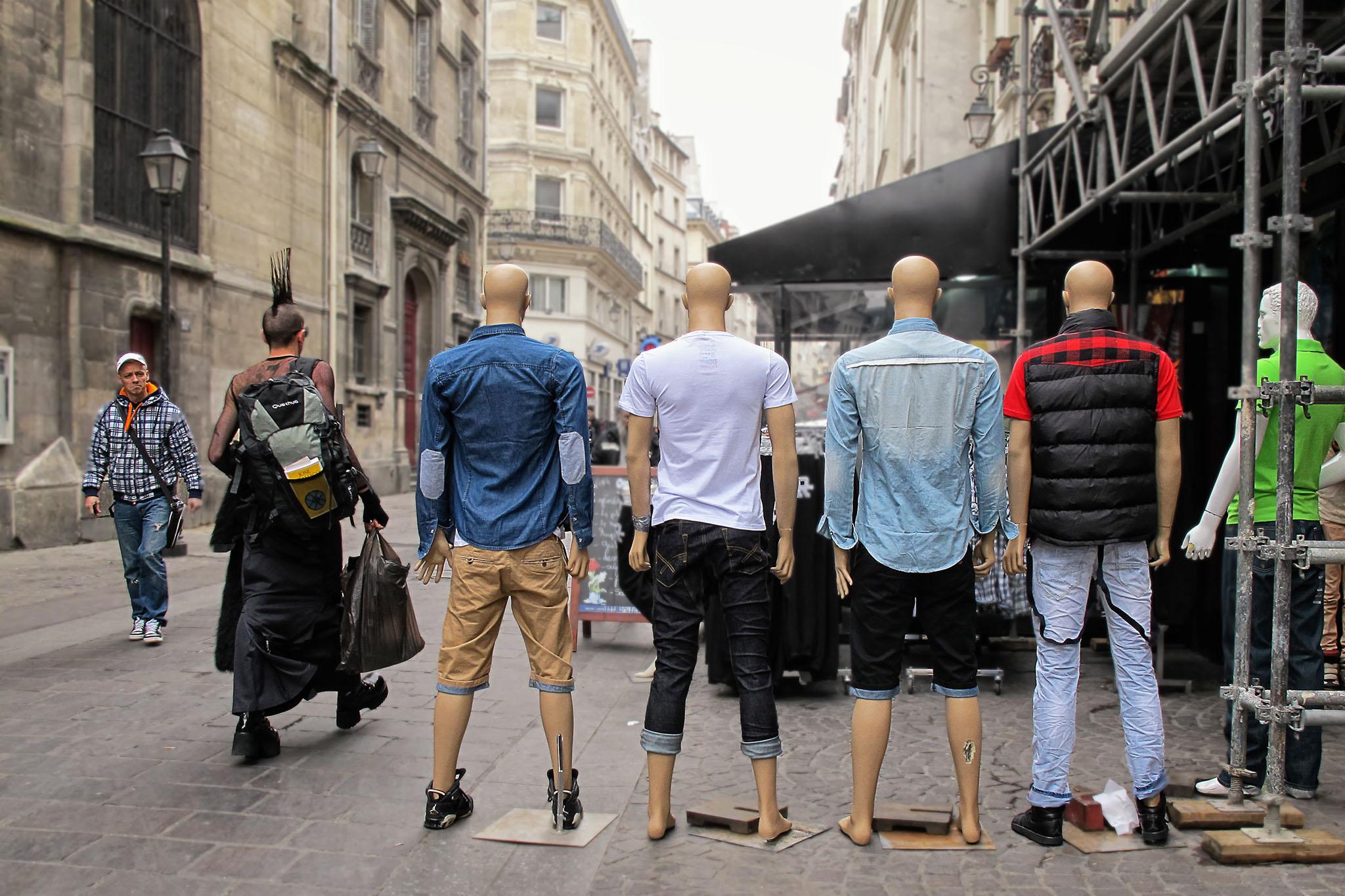 Street fashion - Paris, France
