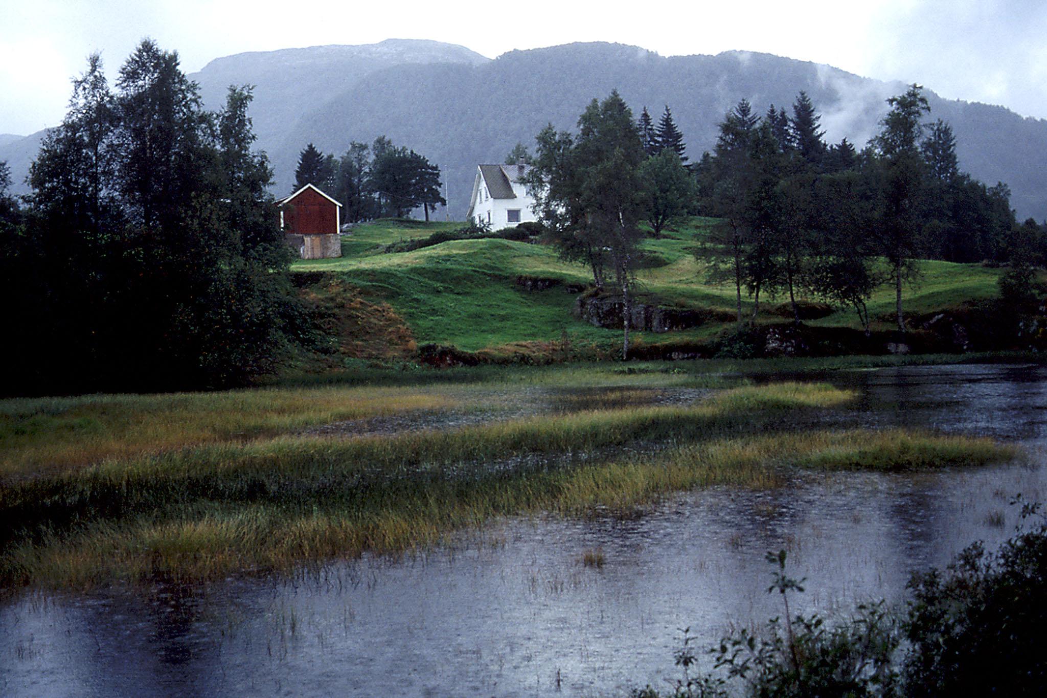 A rainy day - Sauda, Norway