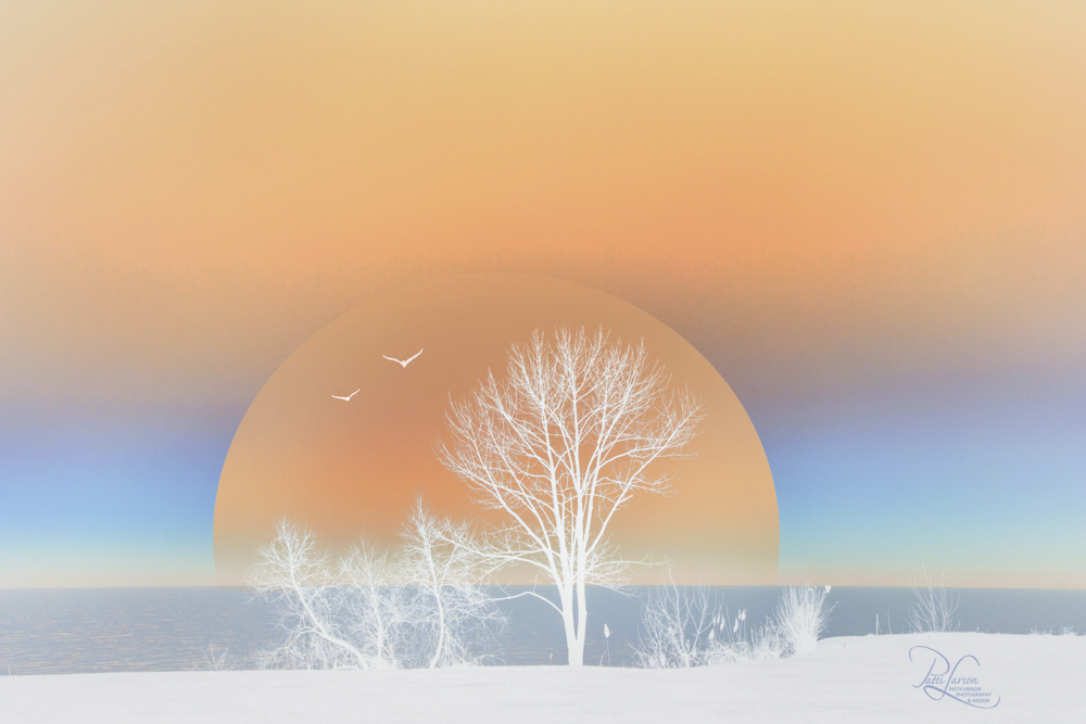 Larson_Sunset Over the Lake.jpg