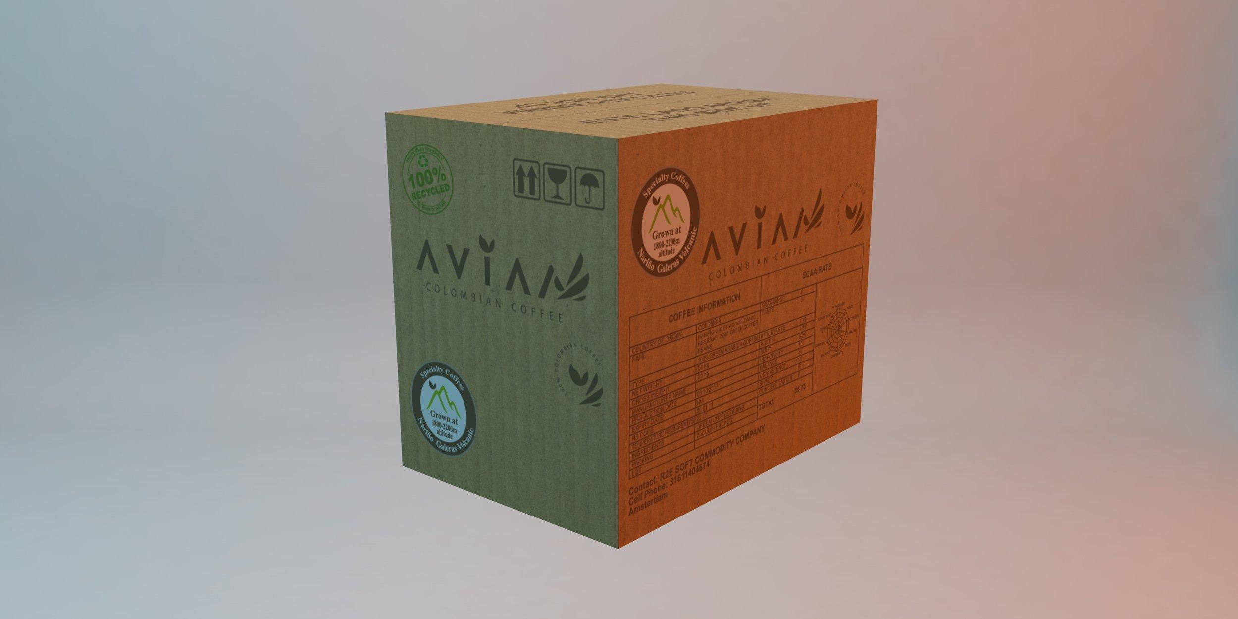 24 kg BOX - 2 vacuum packed units of 12 kilos each