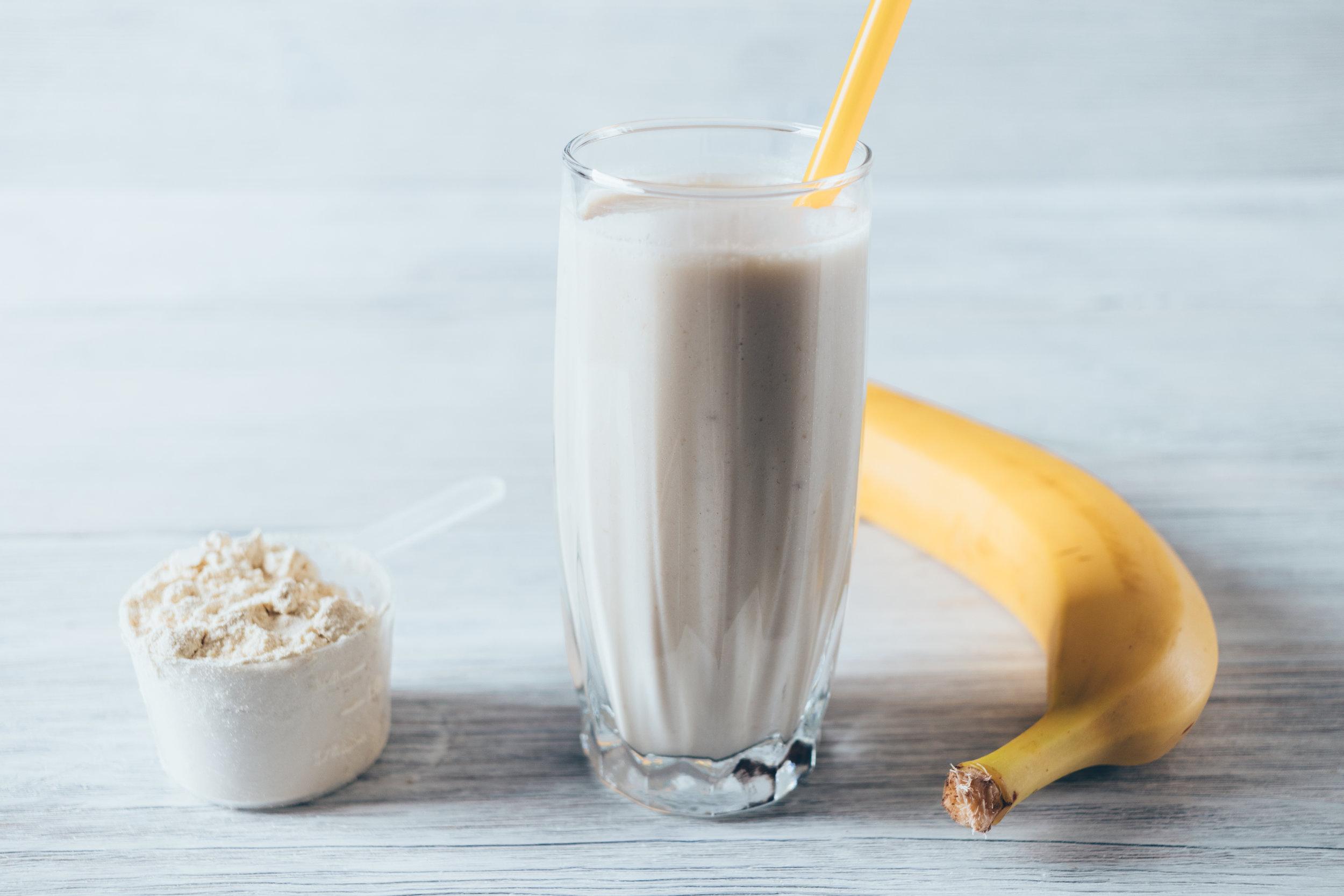 protein smoothie workout