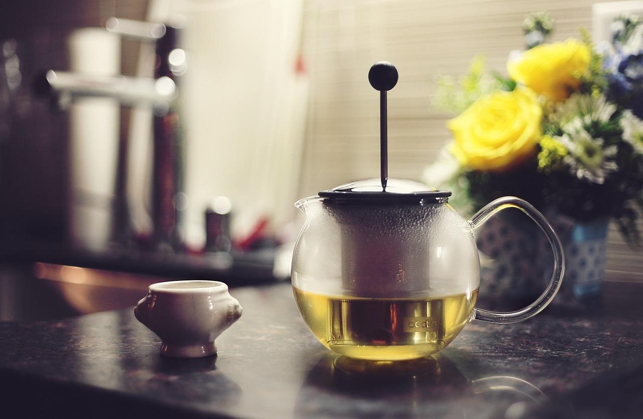 steep herbal tea