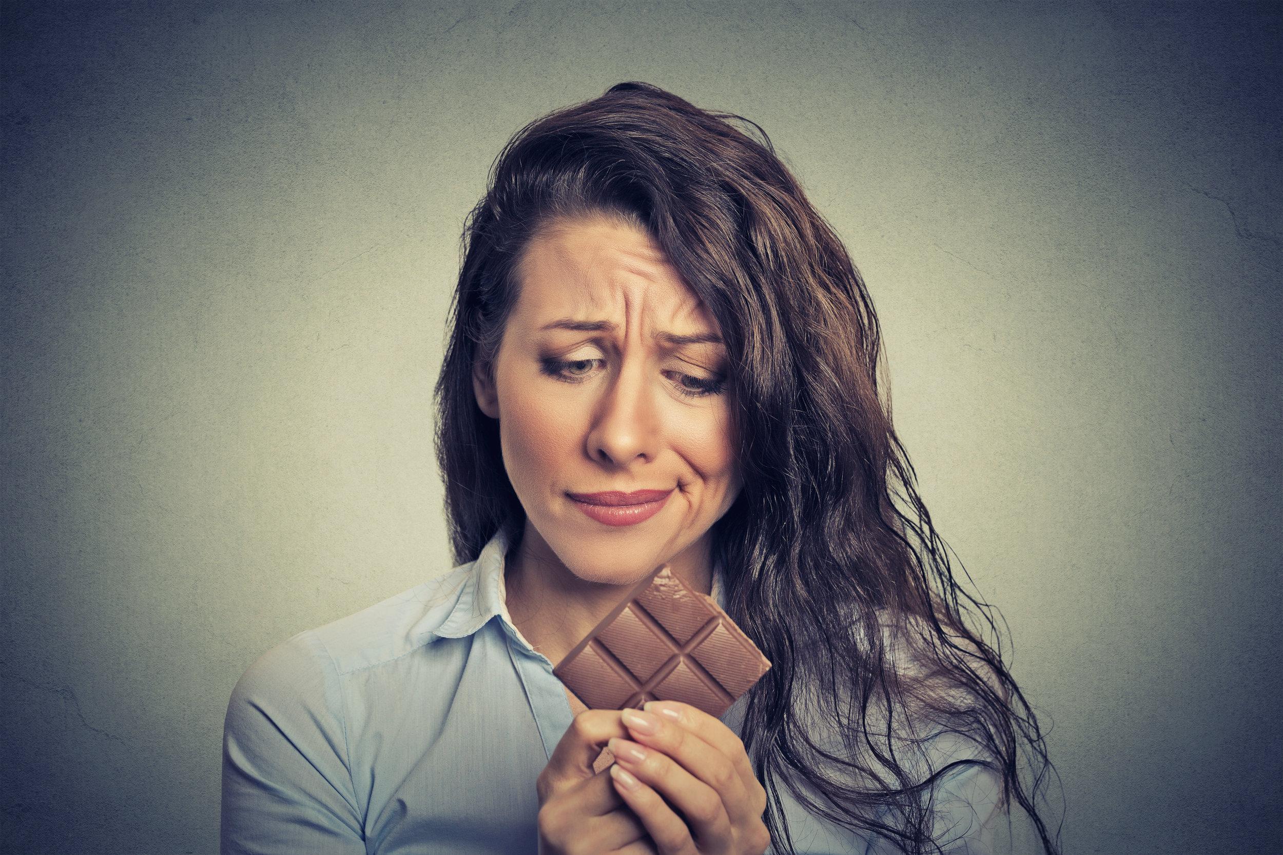 chocolate cravings.