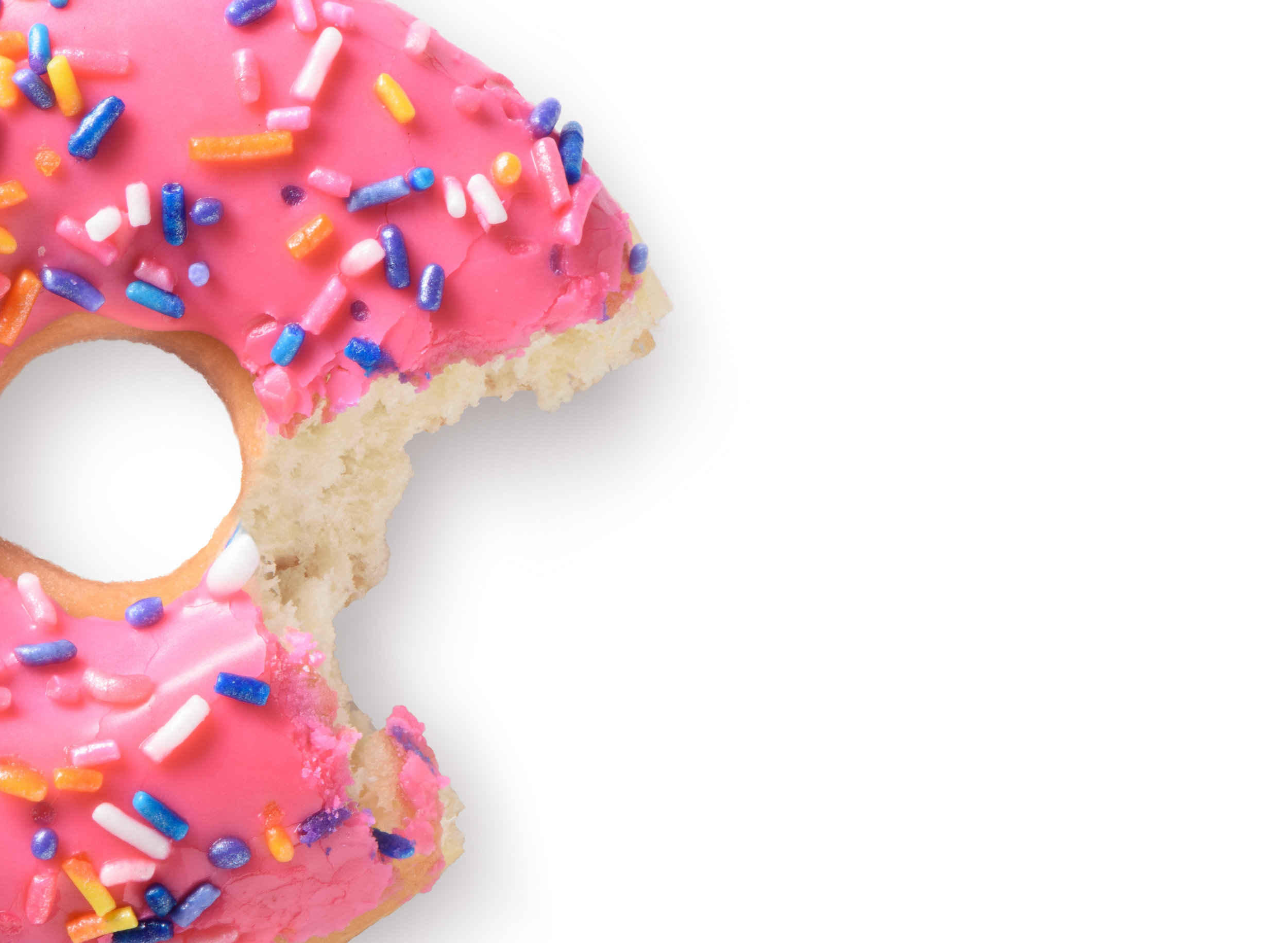 Donuts can be part of your life AND you can eat healthfully. It doesn't have to be either-or!