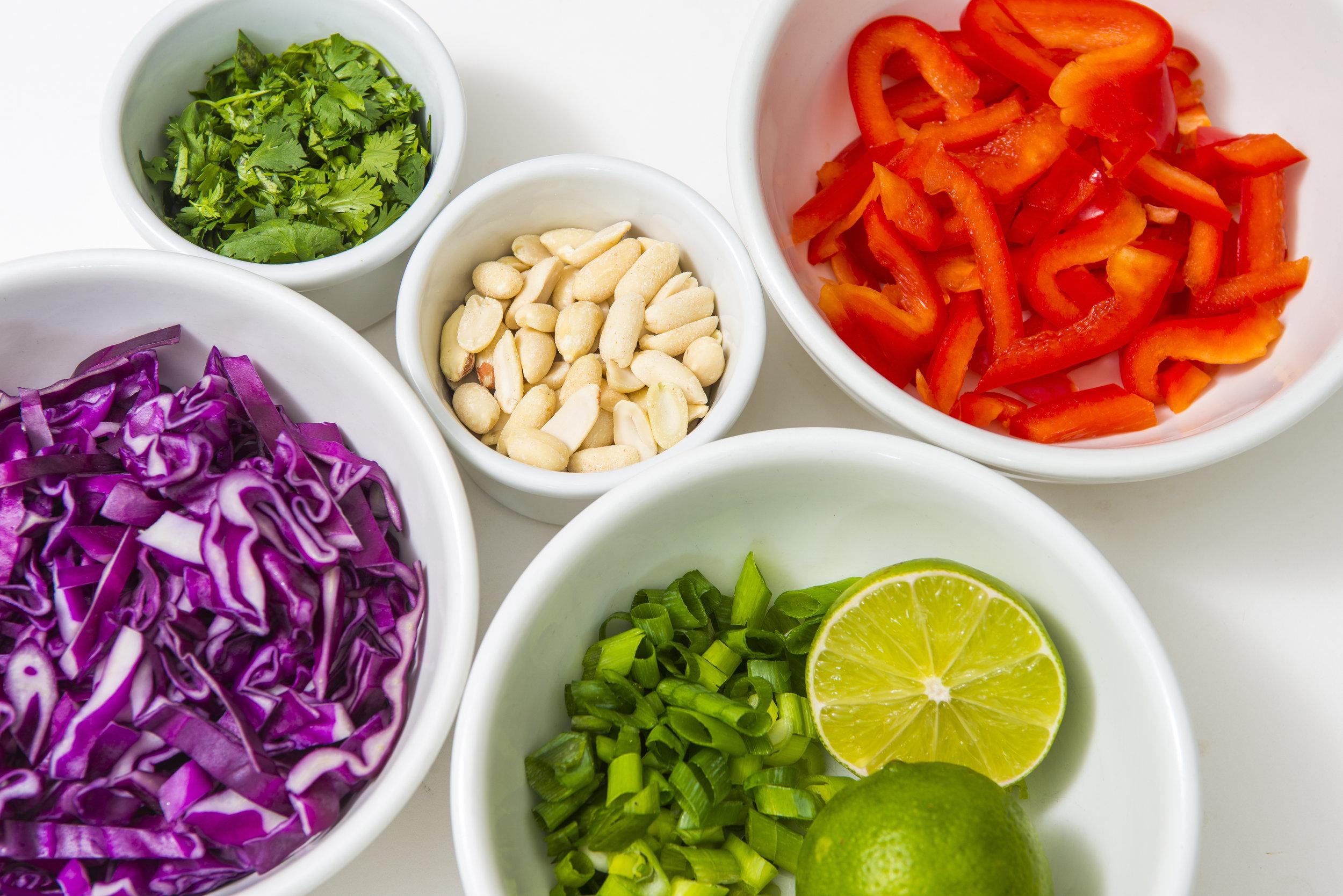 mise en place cooking preparation