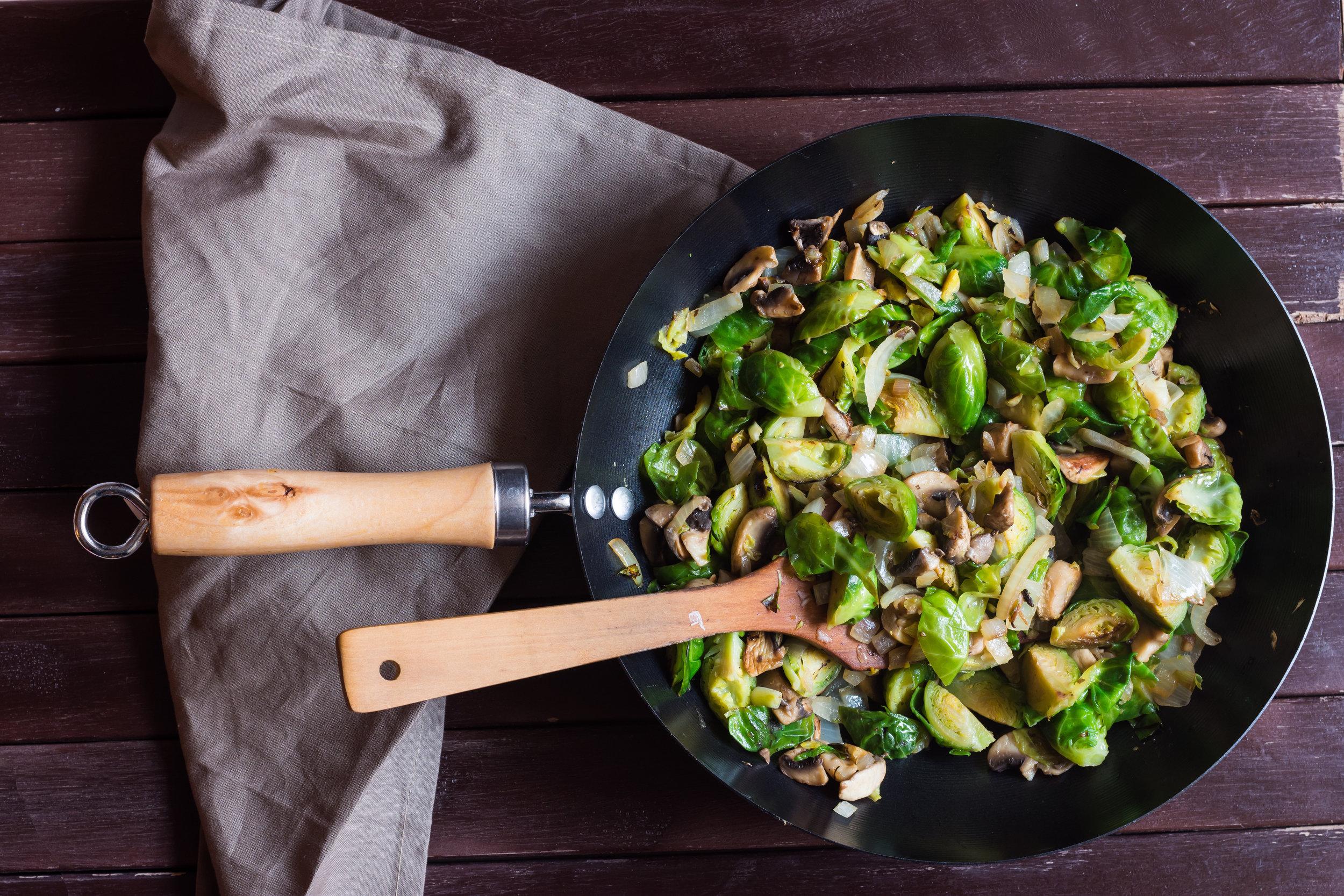 simple sautéed veggies easy cooking