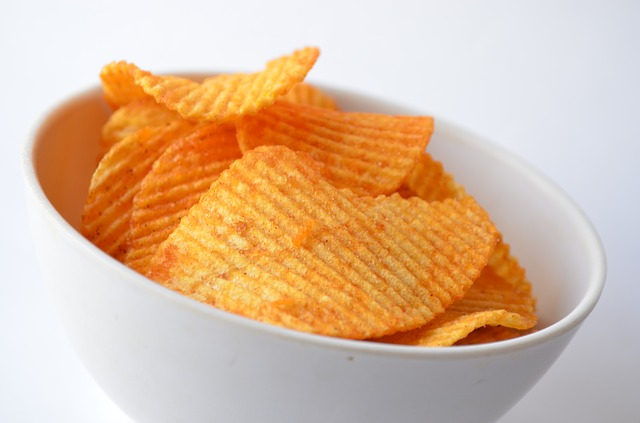 What do you feel when you see this image? Does it make you want to eat chips? Would this serving size satisfy you? Once you started eating, would you feel comfortable stopping at one serving?