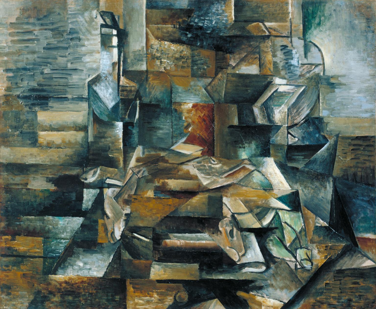 La Musicienne, Jacques Braque