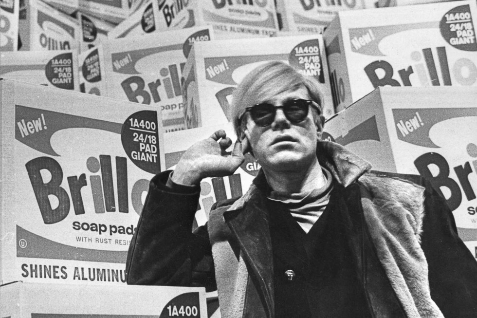 Andy Warhol Photo: Lasse Olsson/Pressens bild
