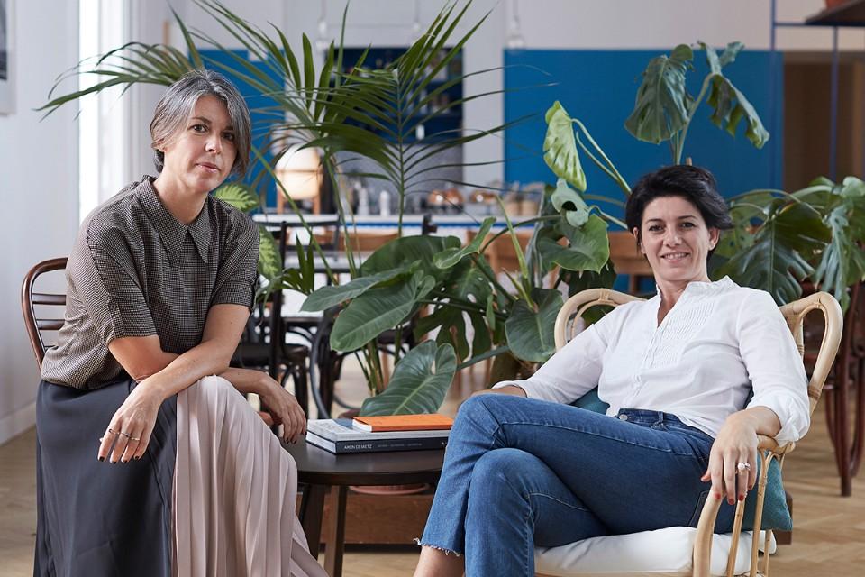 Emilia Petruccelli and Domitilla Dardi, founders of Edit Napoli