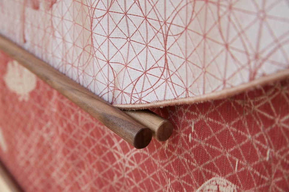 Detail of the desin by Faberhama with De Negri & Za.ma