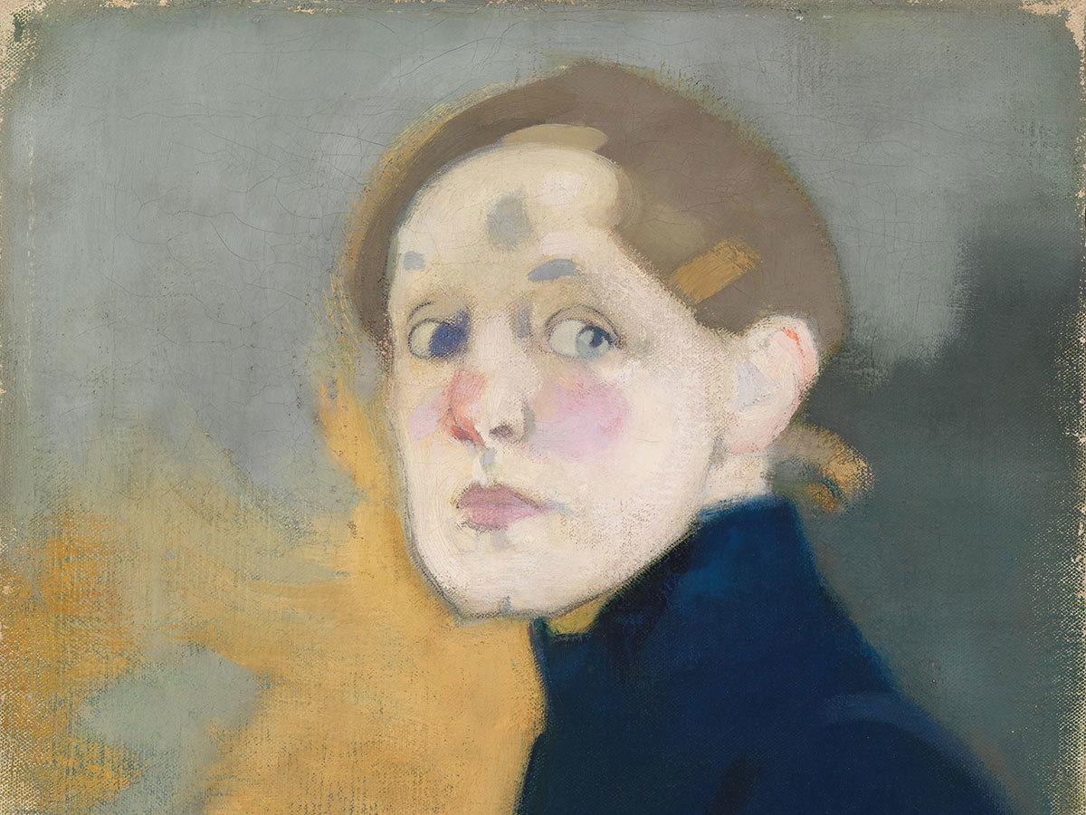 Self-portrait,  1912.