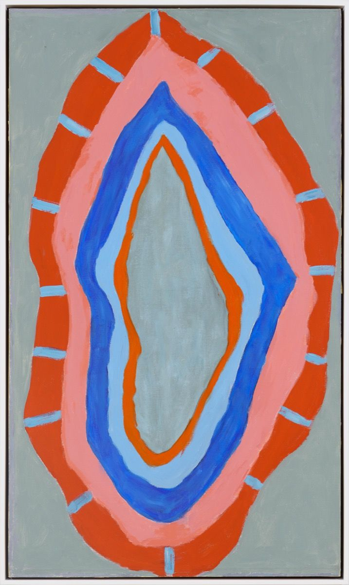 Betty Parsons,  Flame , 1967. Courtesy of Alexander Gray Associates. © Betty Parsons Foundation.