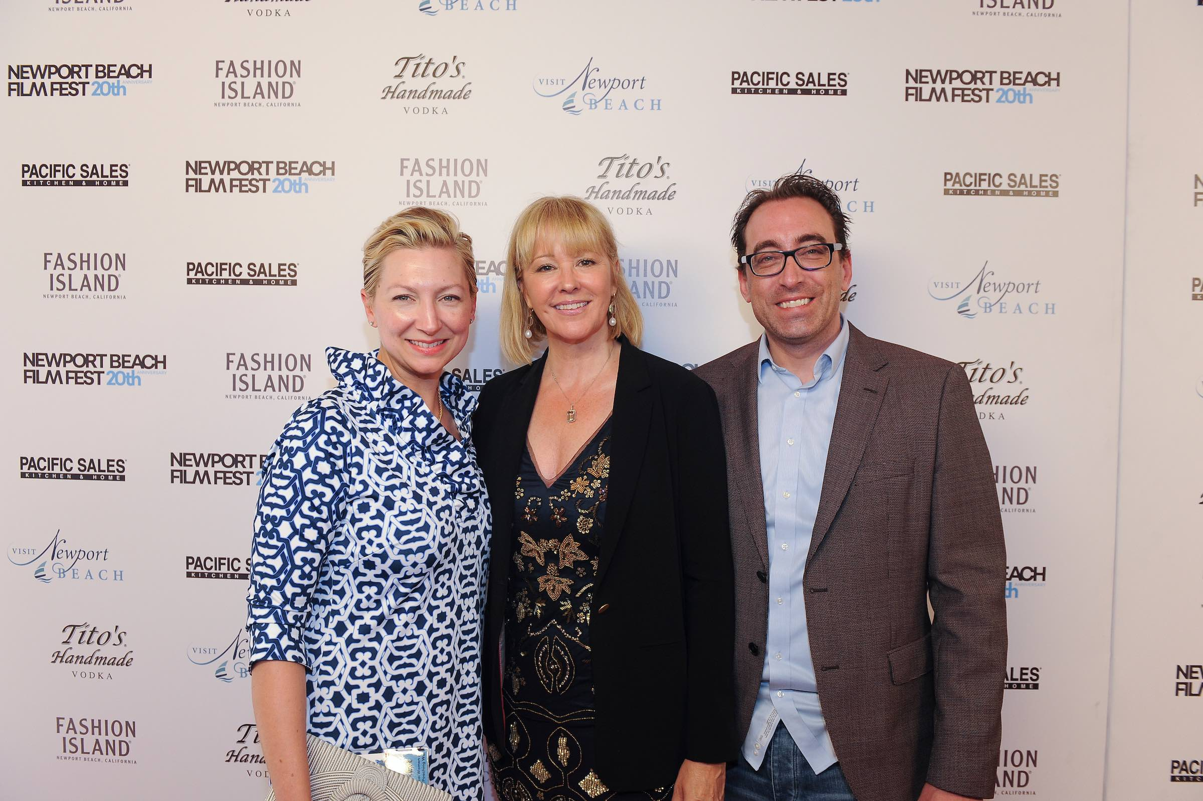 Co-Executive Producer, Margo Ten Eyck, Director/Producer/Writer Kerry David and Executive Producer, Keith Watson at the World Premiere of Breaking Their Silence