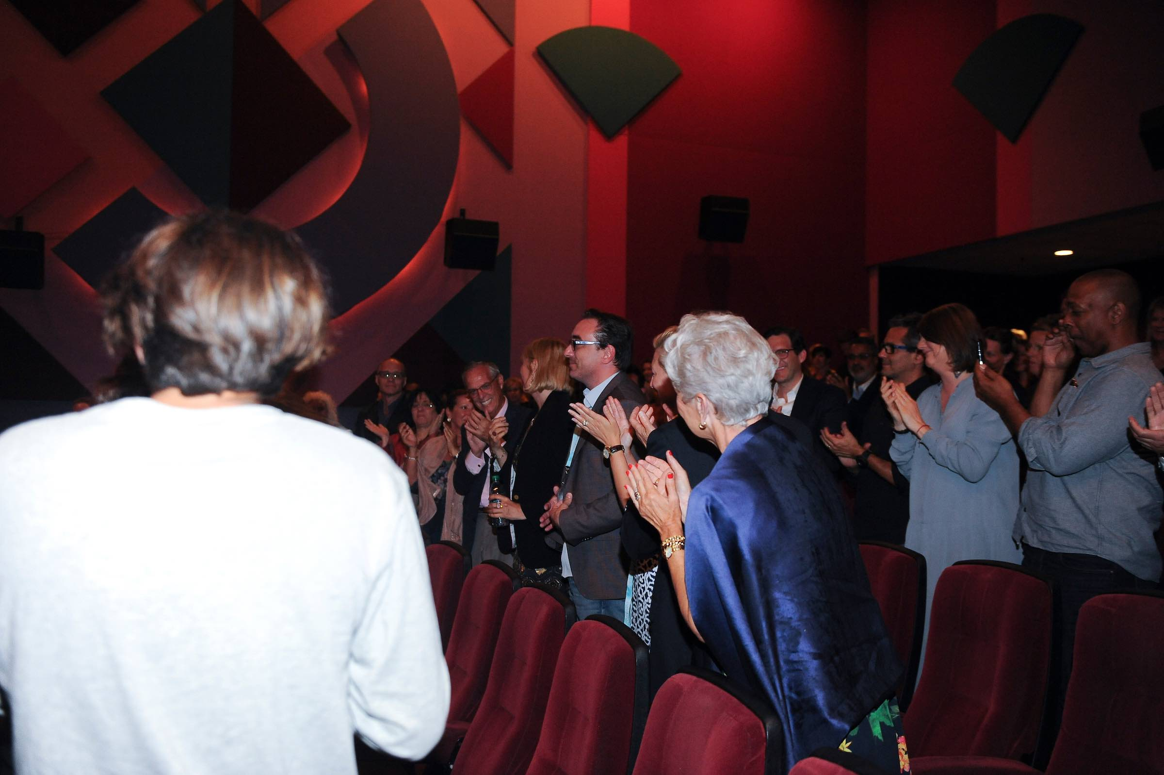"Standing Ovation after the World Premiere of ""Breaking Their Silence"""