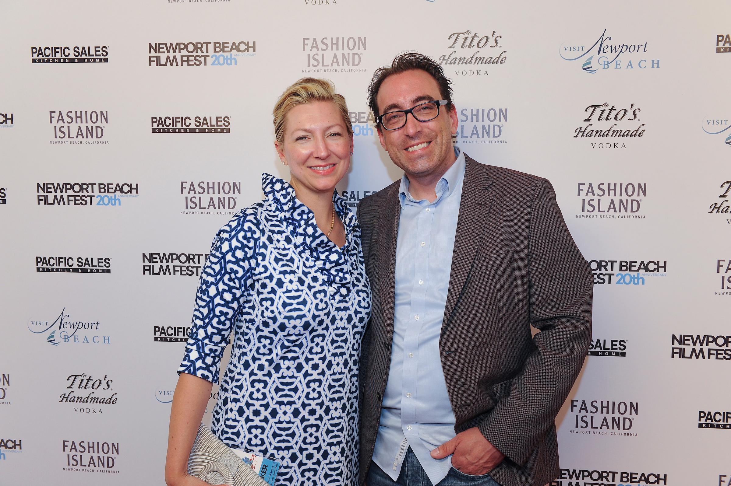 Co-Executive Producer, Margo Ten Eyck with Executive Producer, Keith Watson