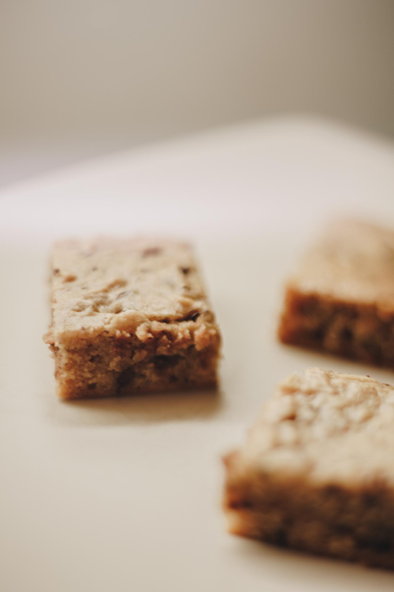 Peanut Butter Honey Blondies Recipe 2