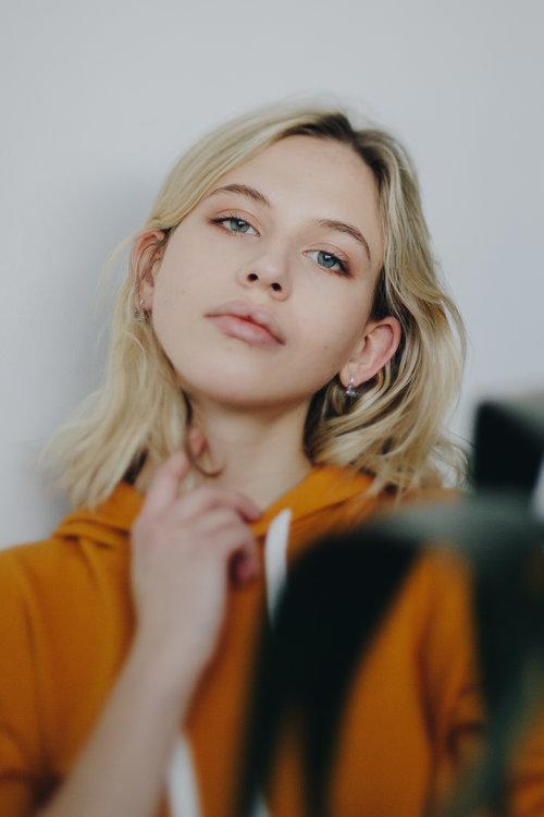 Emma @ Peggi LePage Brooklyn portrait photography by Megan Breukelman