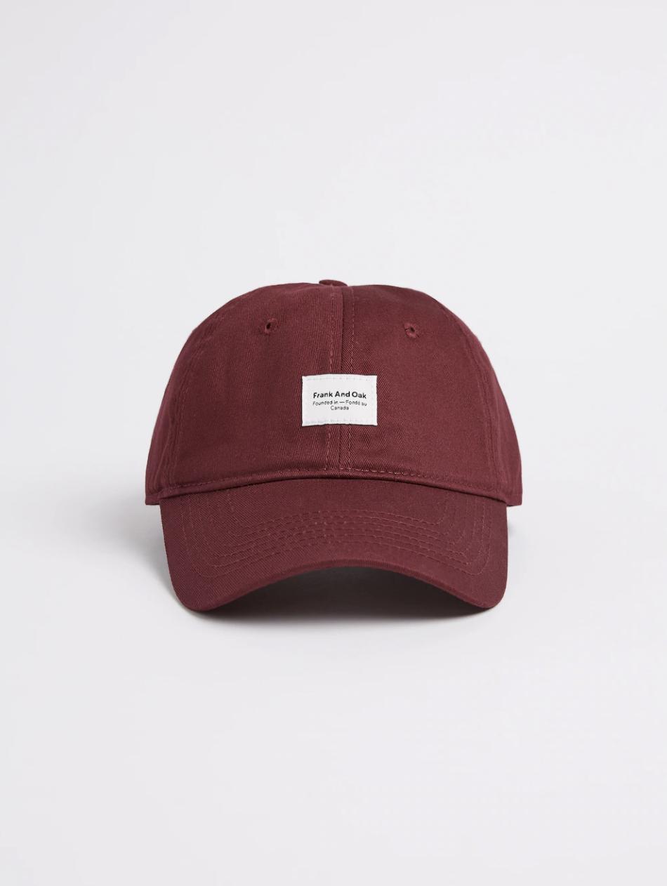 Frank & Oak Washed Cotton Cap   – $29.50
