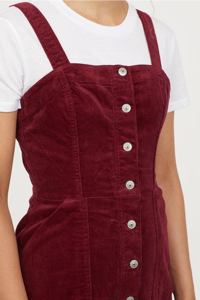 H&M Bib Overall Dress     – $34.99