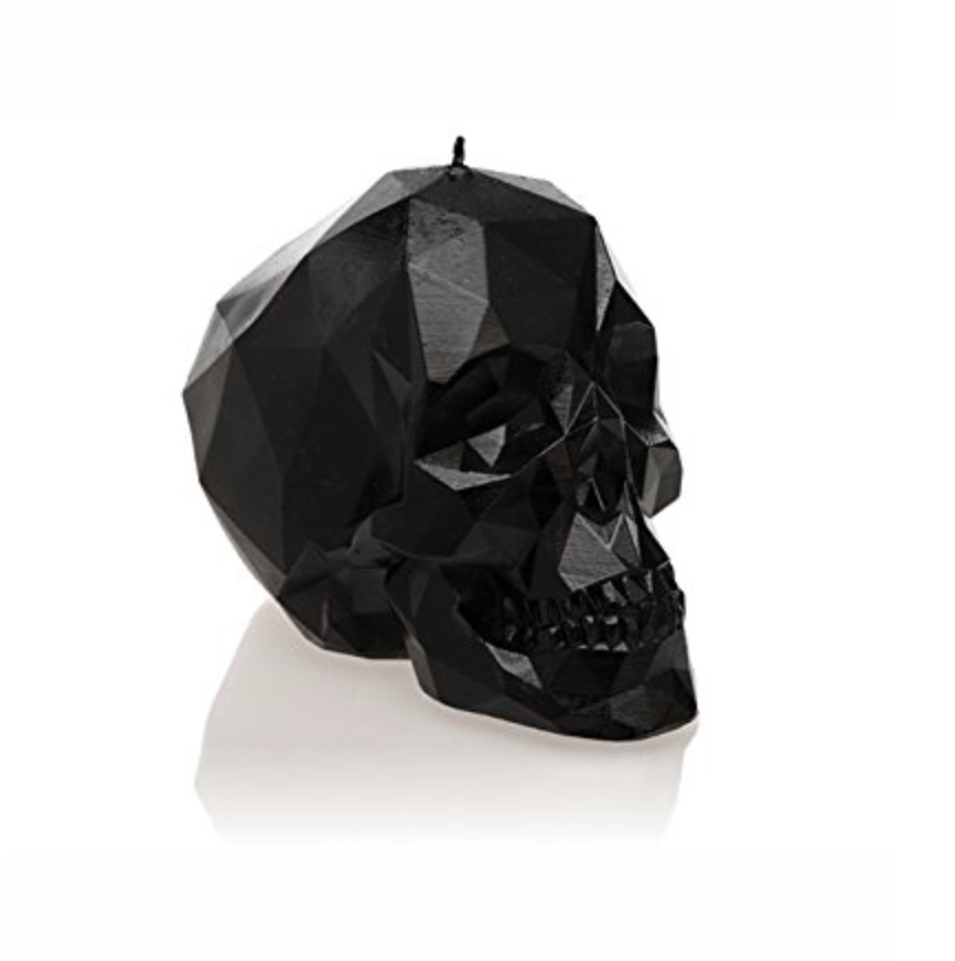 Skull Poly Candle   – $19.99