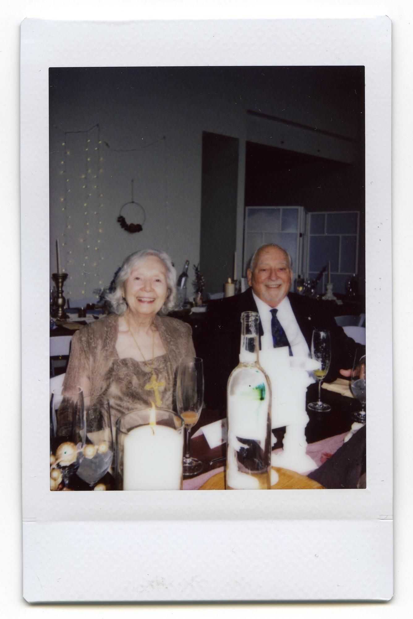 Instax wedding photos