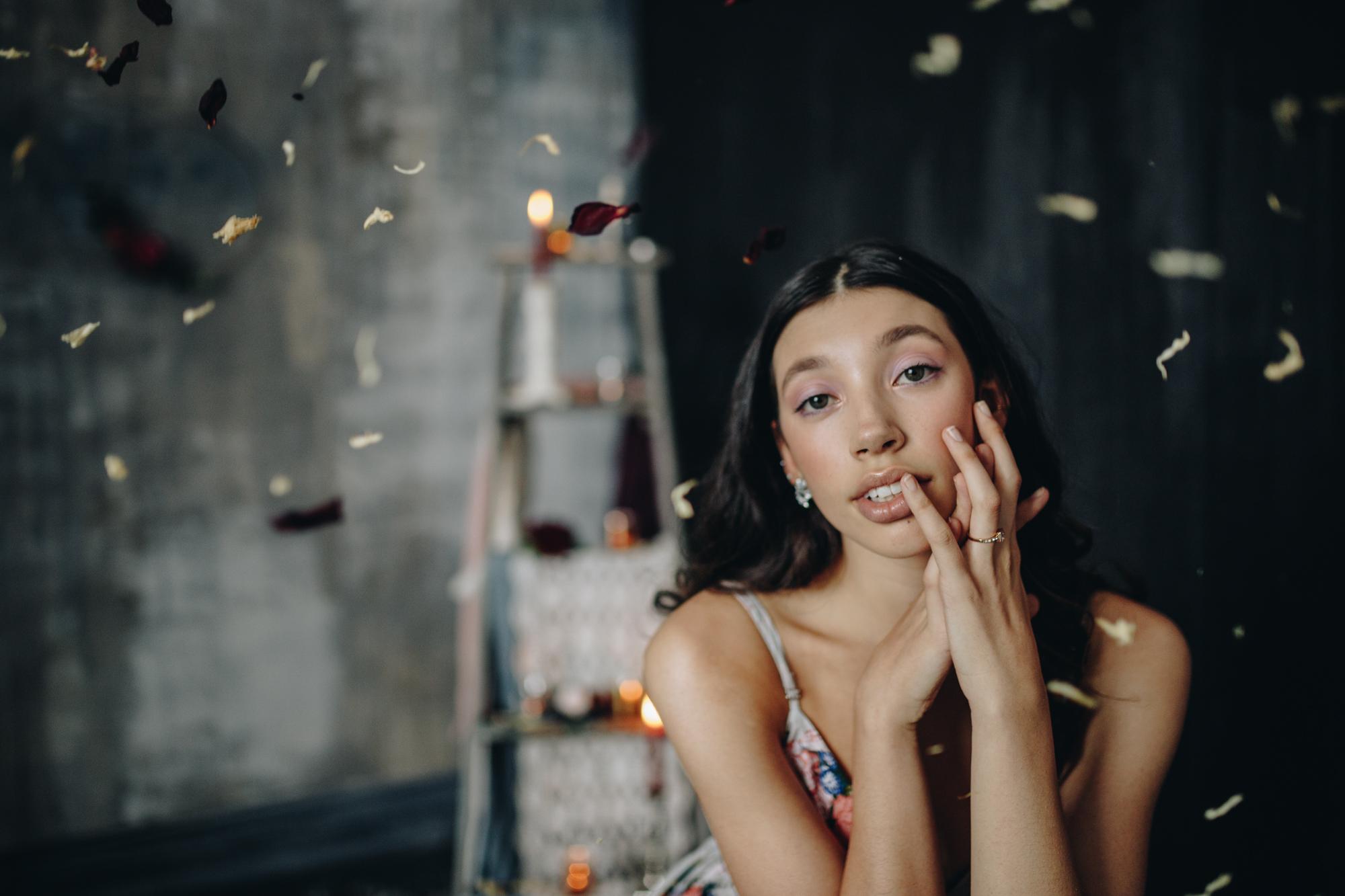 Mint Room Studios bridal shoot