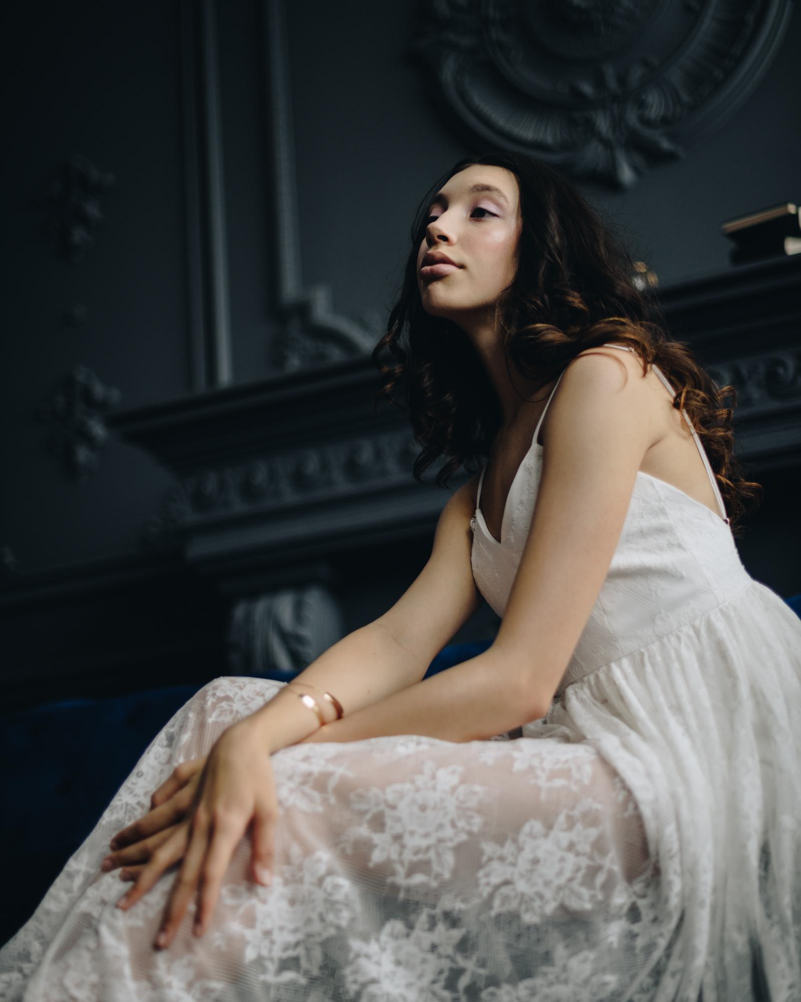 Bridal styled shoot at Mint Room Studios